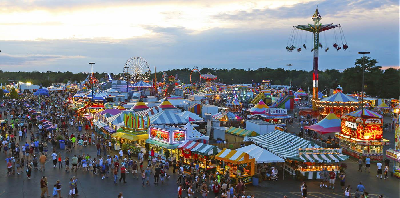 The Midway at the Erie County Fair.  (Robert Kirkham/Buffalo News file photo)