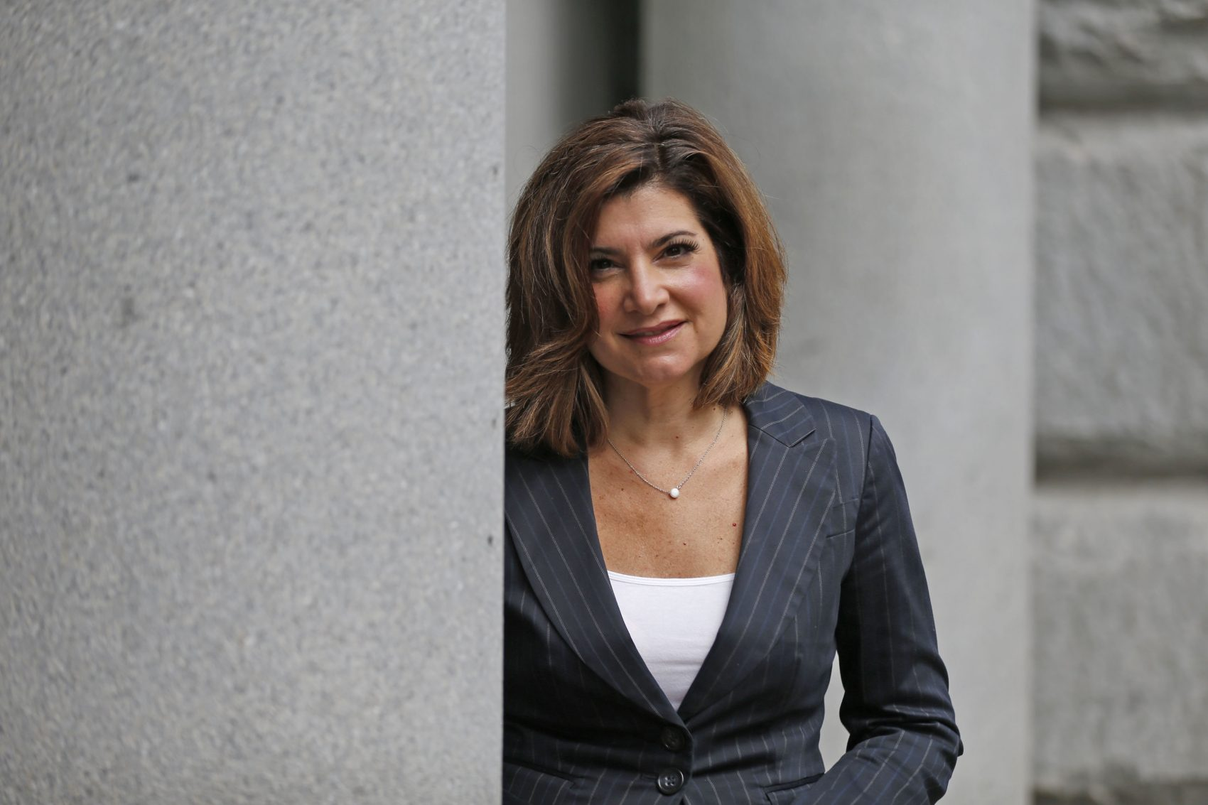 Former Channel 7 news anchor Joanna Pasceri has left the District Attorney's Office for a job with the Amherst Chamber of Commerce. (Robert Kirkham/Buffalo News)