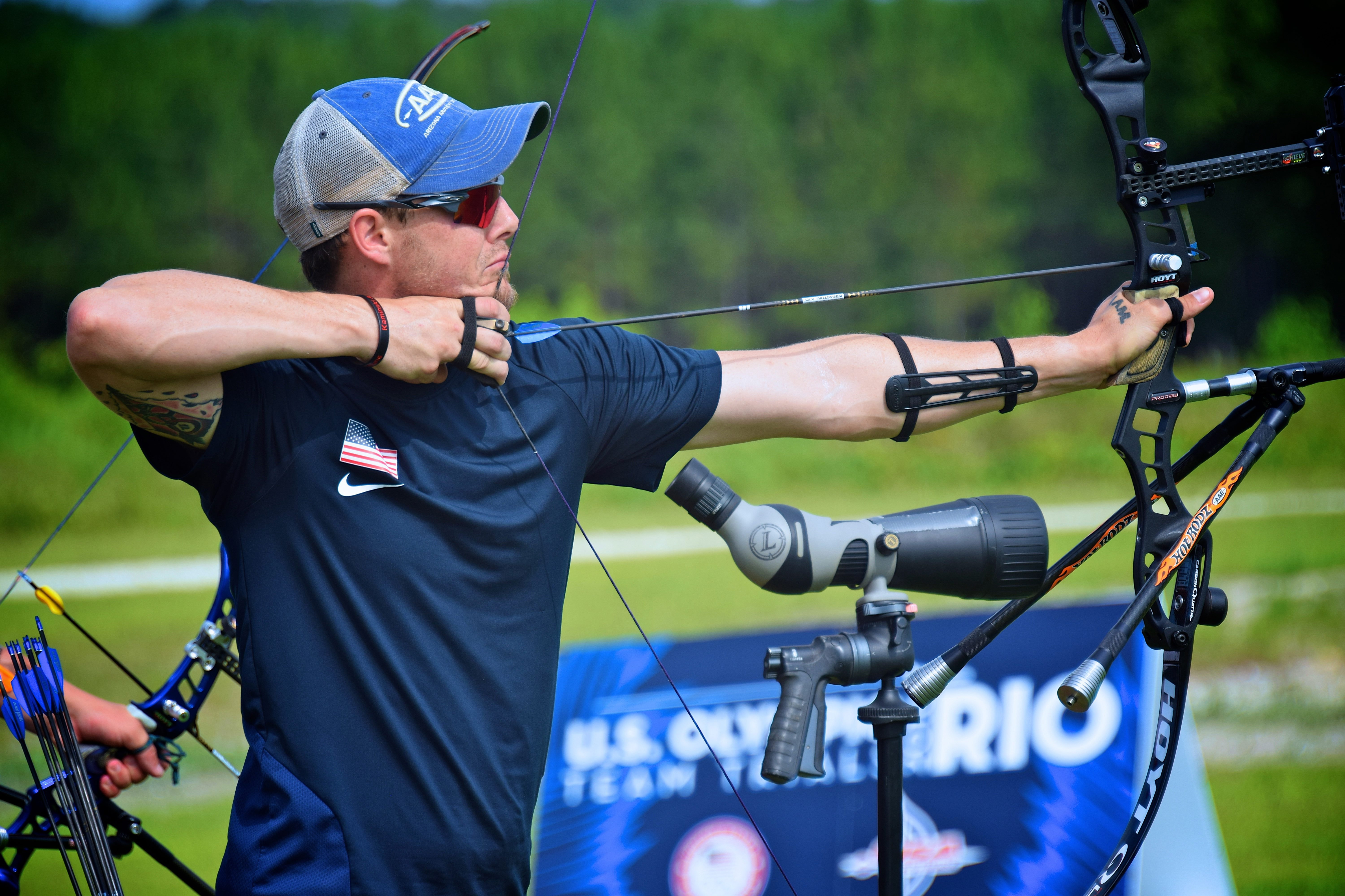 Jake Kaminski, ranked 26th in the world, will again compete on the three-man U.S. archery squad that took silver in London. The trio is expected to medal again.