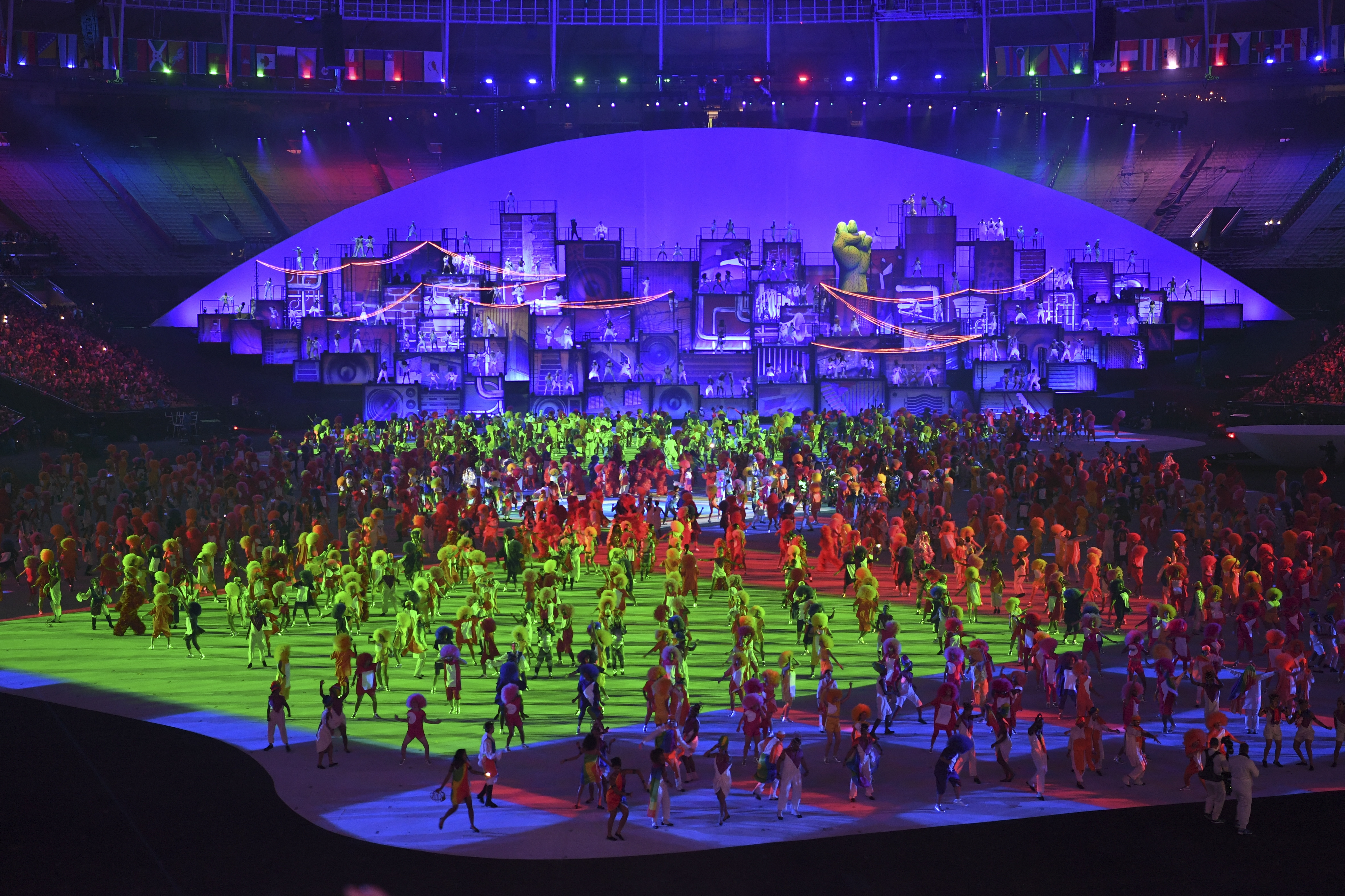 Brazilian culture was front and center in Maracana Stadium during the Opening Ceremonies on Friday night at the Summer Olympics in Rio de Janeiro.