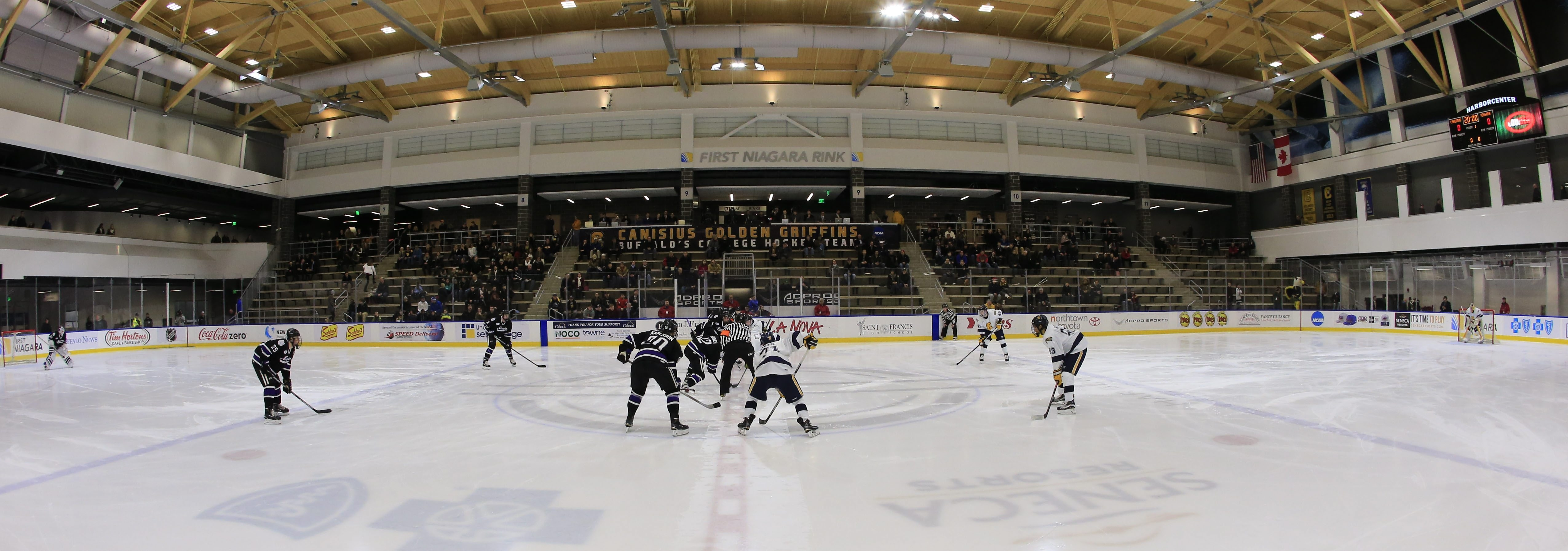 HarborCenter has turned out to be a great home for the Canisius hockey team.