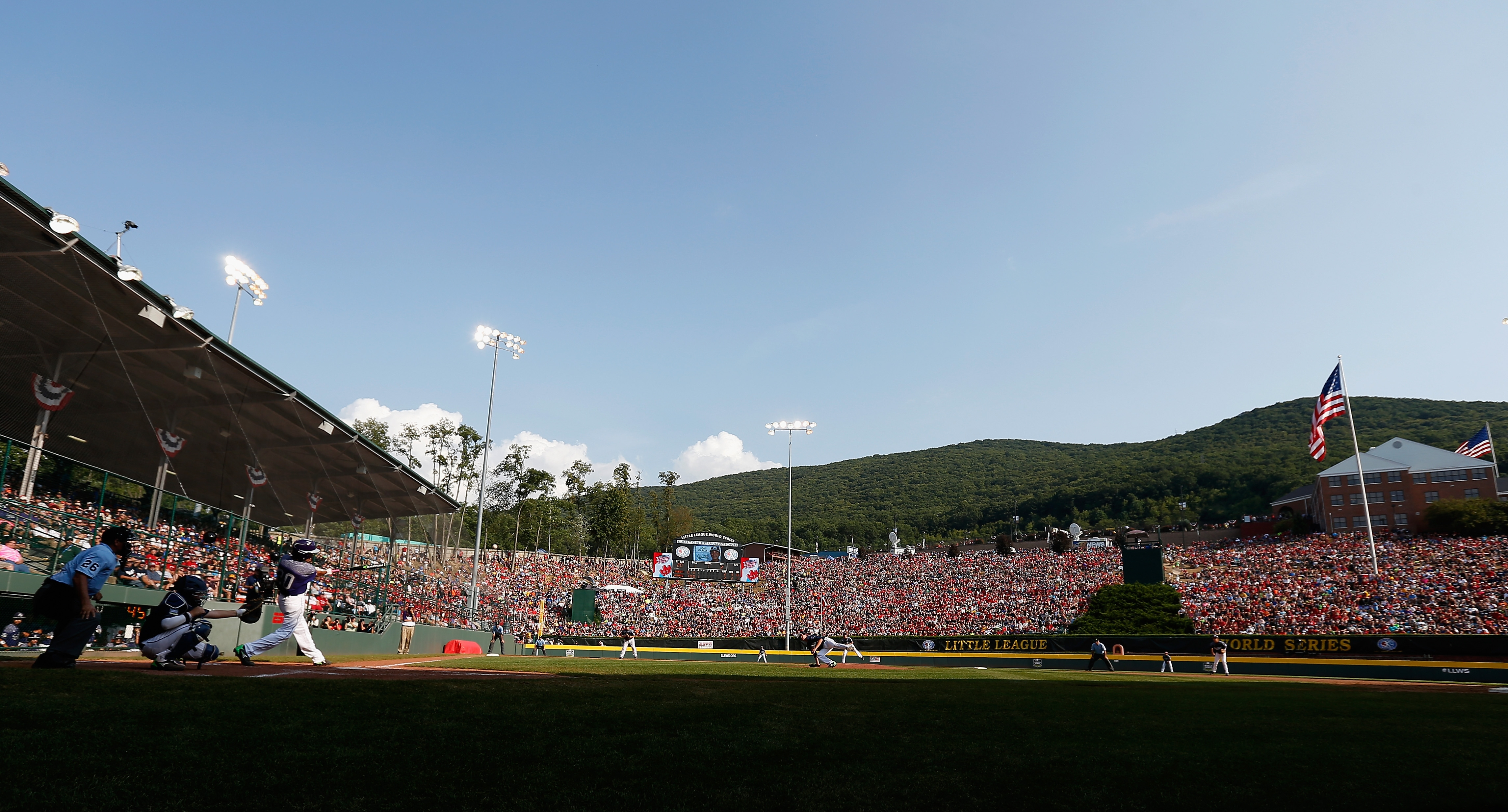 The age limit for the Little League World Series in Williamsport, Pa. is 12.