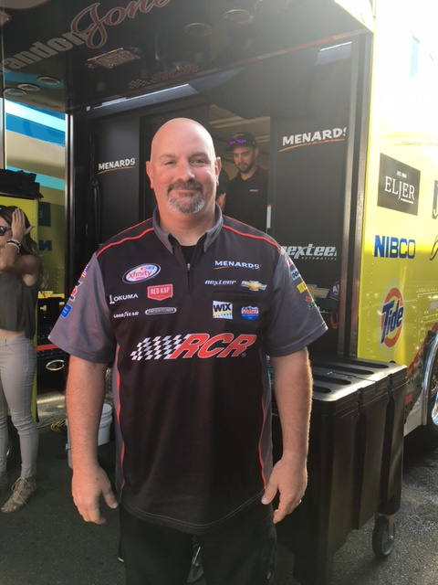 Mike Hillman, a Lockport native, is the crew chief for RCR's NASCAR XFinity Series No. 33 Roland Chevrolet.