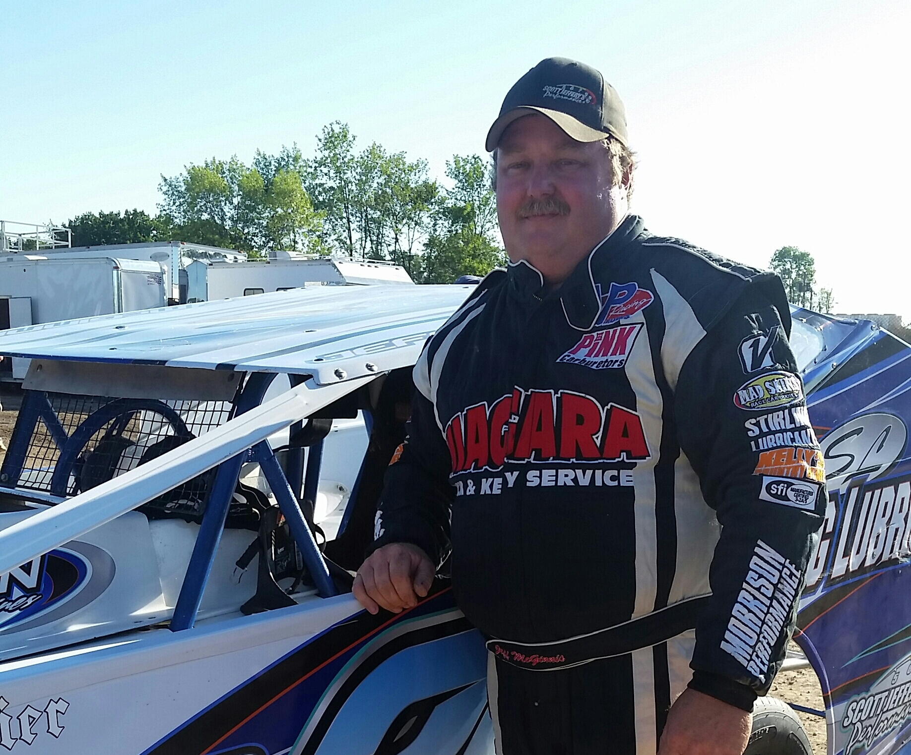 Jeff McGinnis has been racing since a teenager.