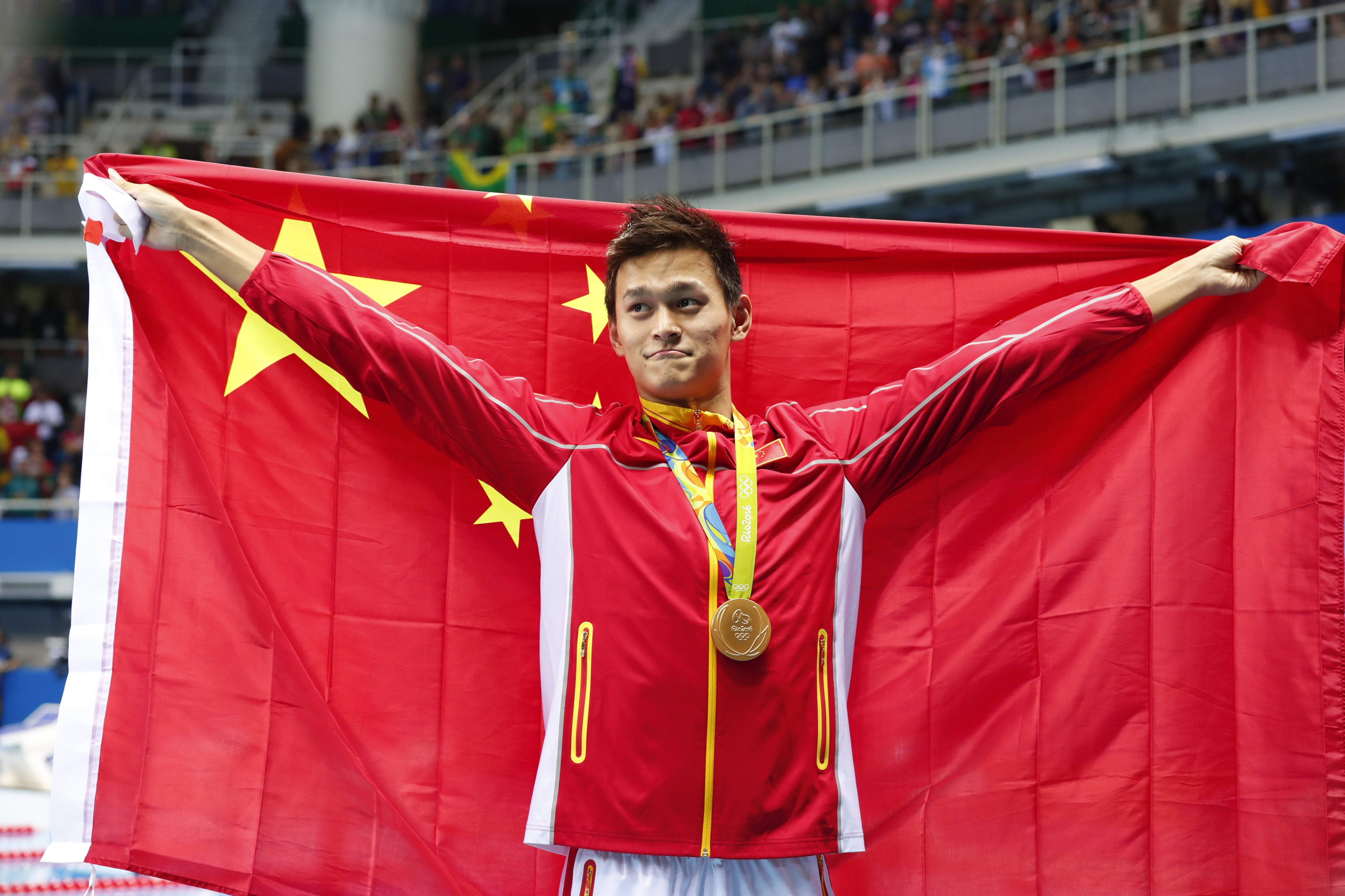 Sun Yang of China competed in this year's Olympics despite serving a doping ban in 2014. (New York Times)