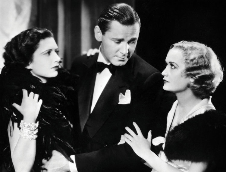 """Kay Francis, left, Herbert Marshall and Miriam Hopkins star in the sophisticated comedy """"Trouble in Paradise"""" which opens Buffalo Film Seminars on Aug. 30."""