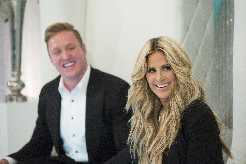 "Buffalo Bills linebacker Kroy Biermann and his wife, Kim Zolciak-Biermann, star in the Bravo network's ""Don't Be Tardy."""