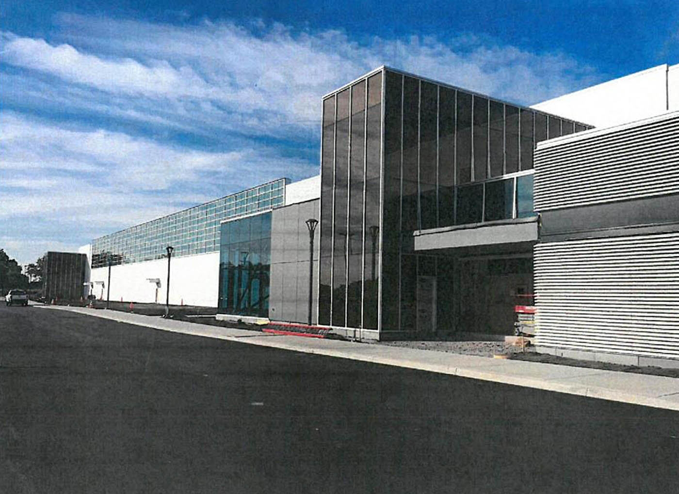 """The first glimpse inside the massive SolarCity facility at Buffalo's RiverBend comes courtesy of Empire State Development Corp., which states the structure is scheduled for """"substantial completion"""" by Sept. 15."""