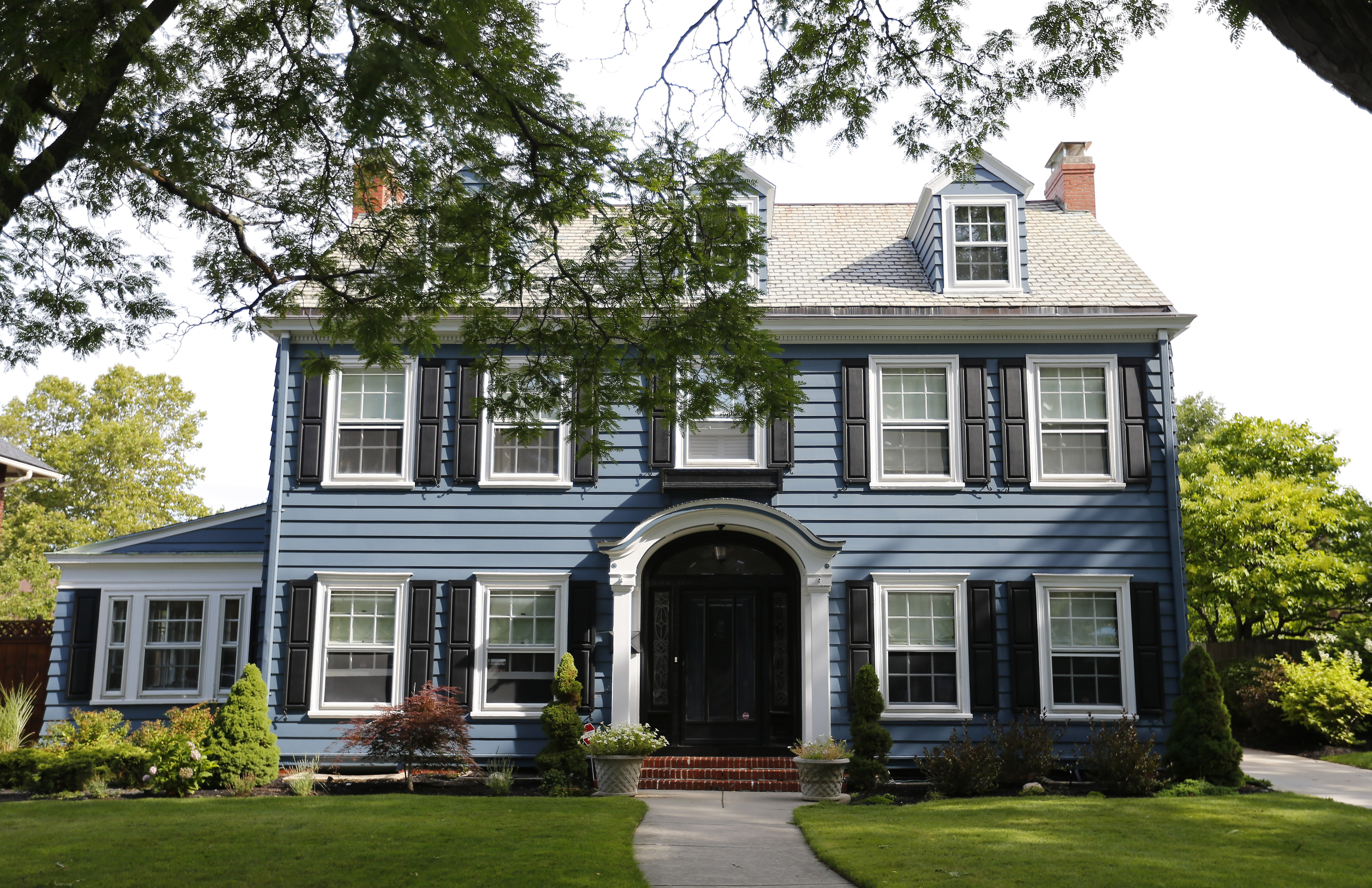 The Central Park neighborhood home of Josephine Zagarella and Torsten Behrens in Buffalo Wednesday, August 17, 2016.       (Mark Mulville/Buffalo News)