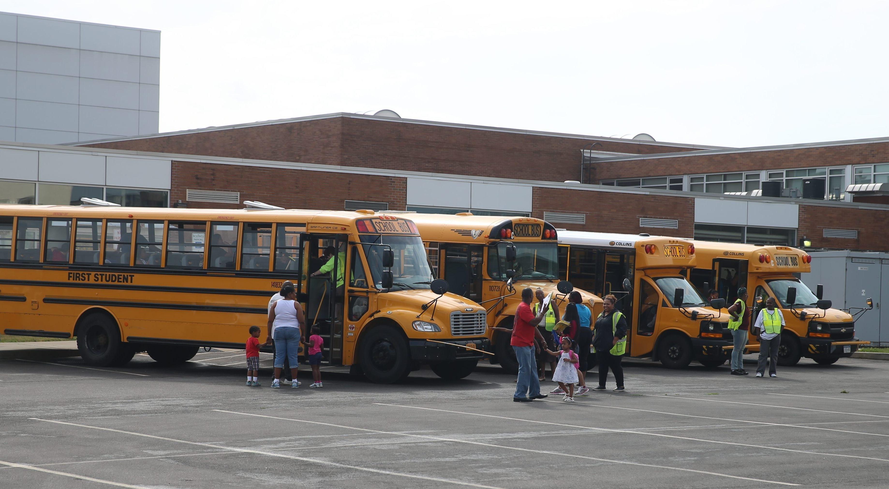 Buffalo schools hosts school bus open house Saturday