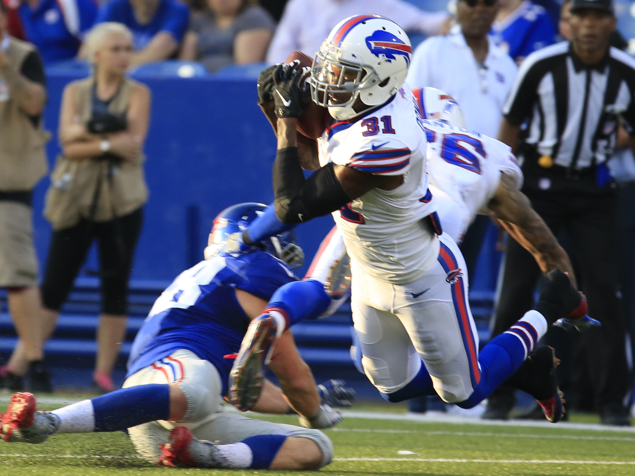 Jay Skurski's Points After: Bills 21, Giants 0