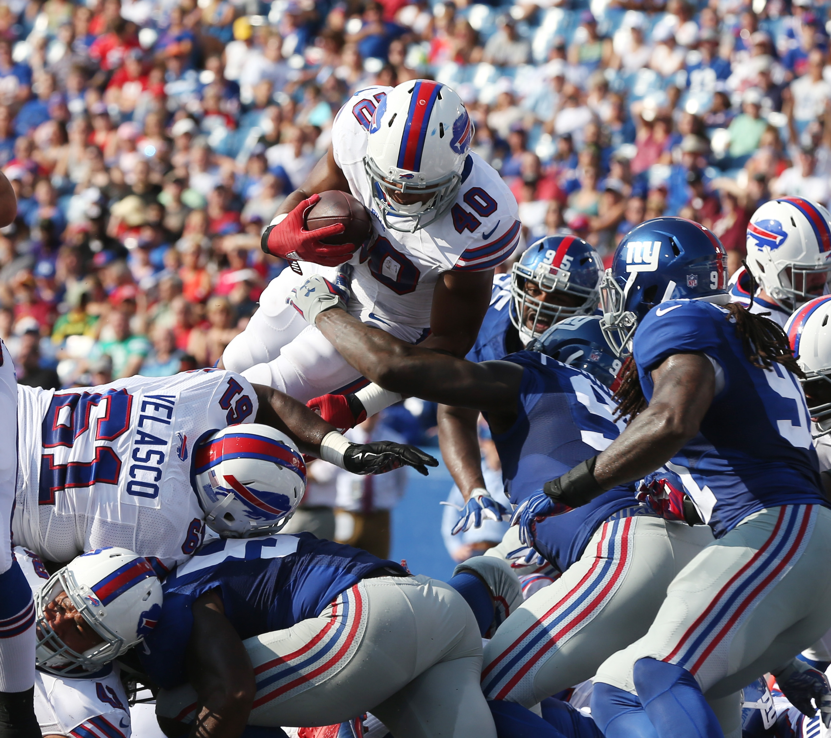 Bills notebook: Karlos Williams' career in Buffalo comes to an abrupt end