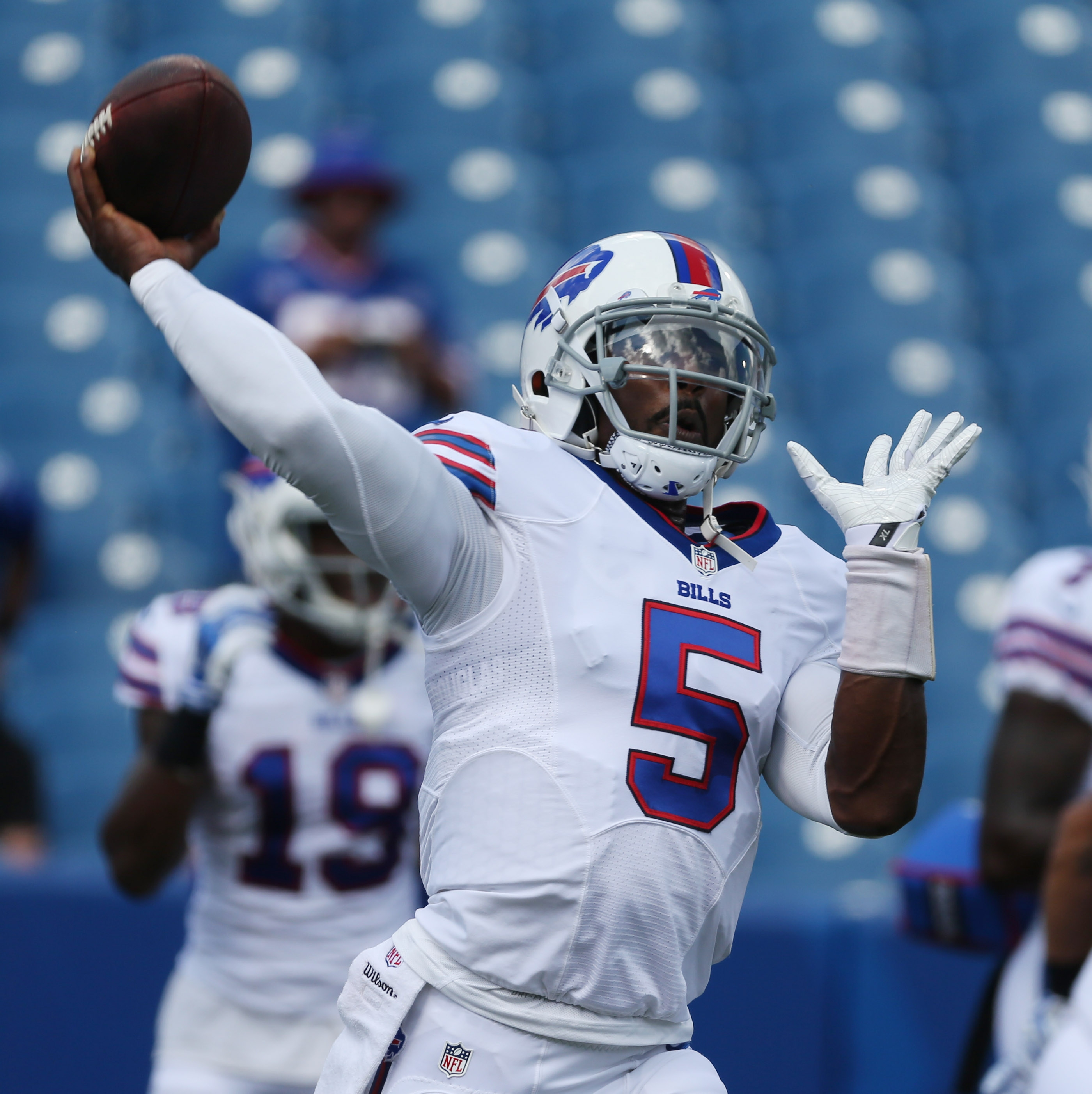 Reader questions about Tyrod Taylor make it clear his contract is the top issue facing the Bills.