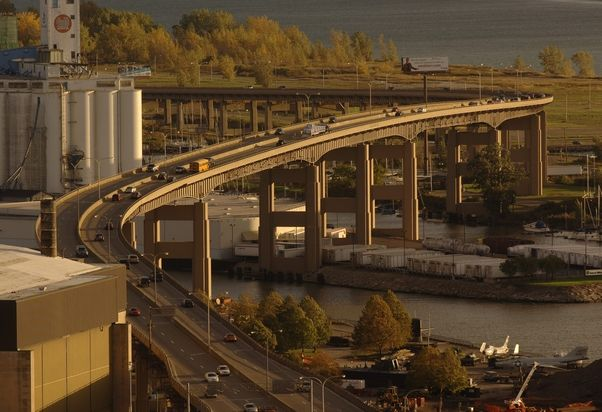 Greater Buffalo has faced its own debate about the future of the Skyway. (Derek Gee/The Buffalo News)