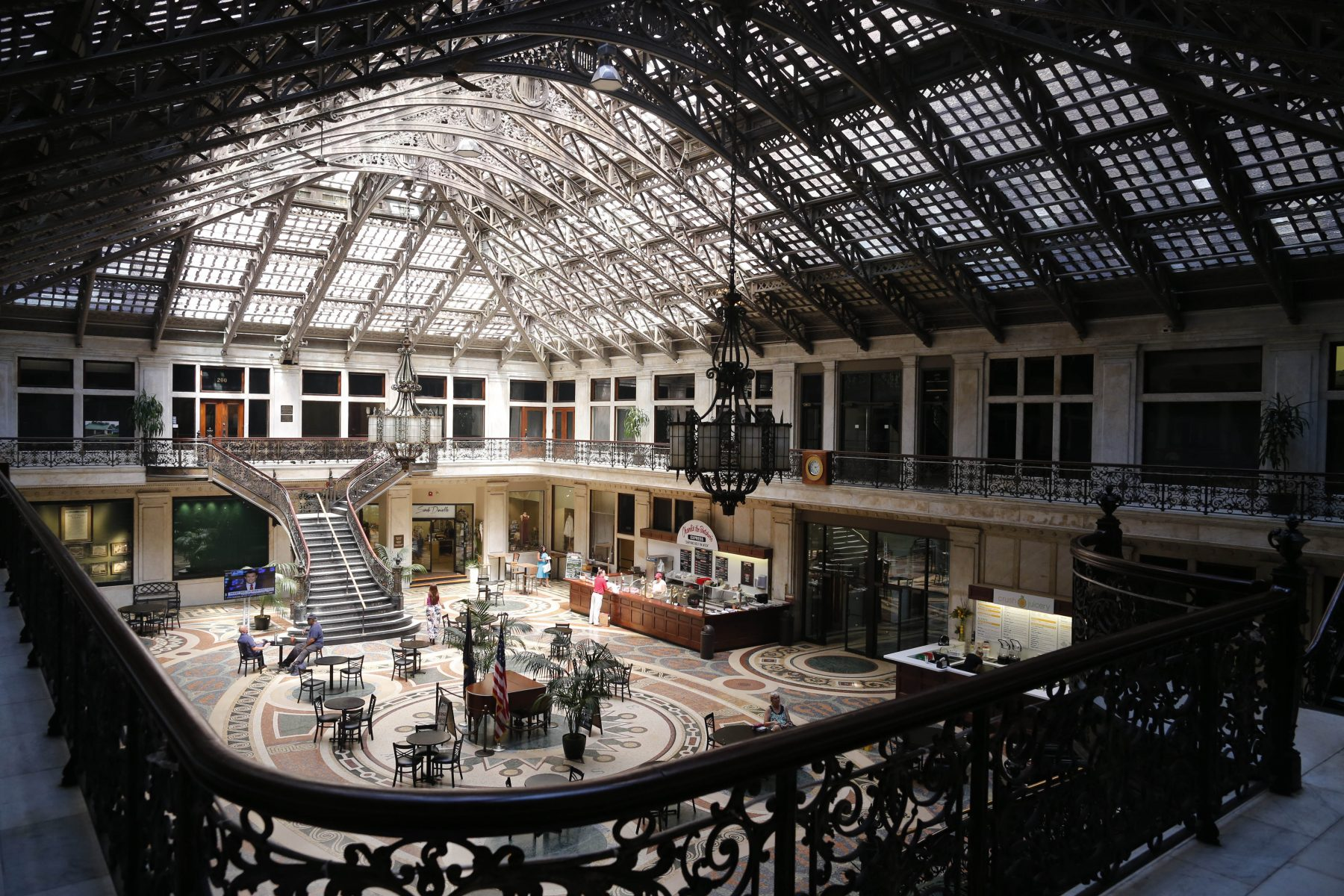 The Ellicott Square Building is included on the Inside Downtown South walking tour from Explore Buffalo. (Derek Gee/Buffalo News file photo)
