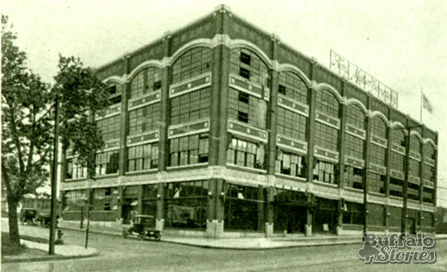Ford Plant, 1920. Now the Tri-Main Building. (Buffalo Stories archives)