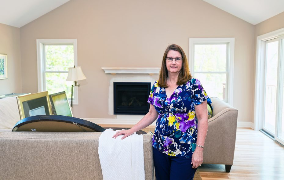 Julie Dana, owner of The Home Stylist, says staging a home is more of a science, whereas decorating is more creative and personal. (Michael P. Majewski)