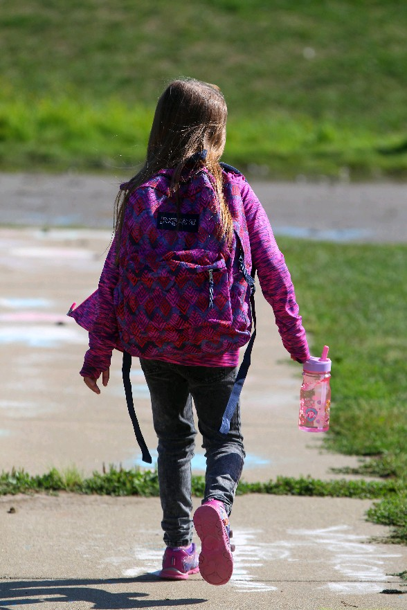 Wearing a backpack properly can spare children, and adults, from neck, back and shoulder pain.