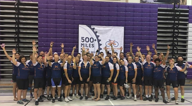 Empire State Ride participants gathered in Manhattan to raise money for Roswell Park Cancer during a roll across the state, which ended in Niagara Falls. Race founder Terry Bourgeois and others shared stories from the road with WNY Refresh.