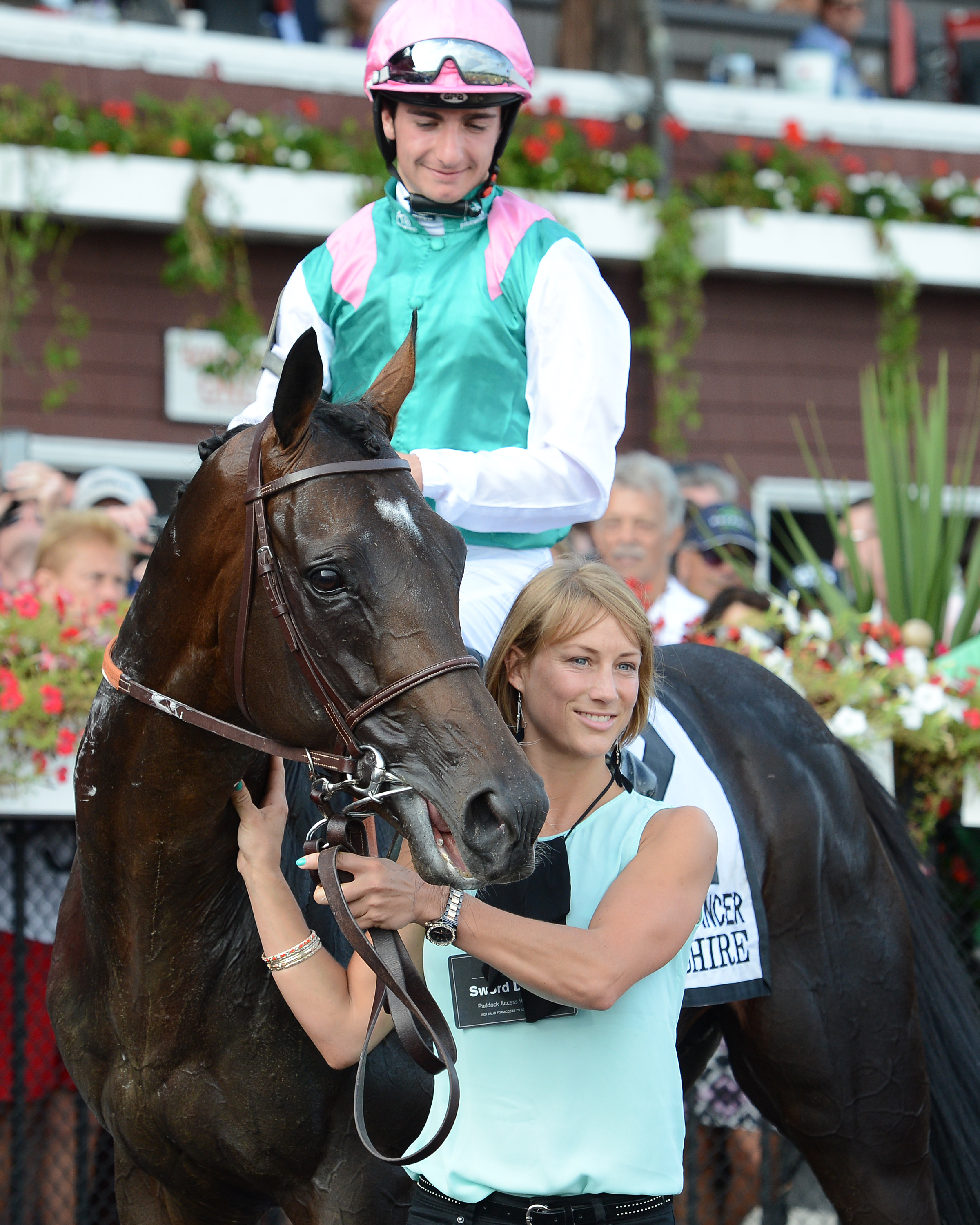 Flintshire looks to win the Sword Dancer for the second straight year. Photo Credit: Susie Raisher/NYRA