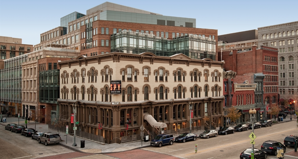 Historic Row is located in Penn Quarter of Washington, D.C. The building is comprised of 118,676 square feet which houses both retail and office tenants. (Photo from Douglas Development)