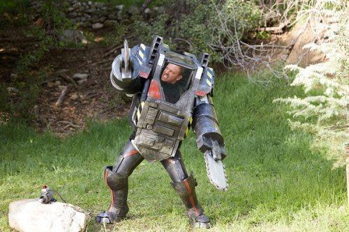 Ian Ziering stars as Fin Shepard in 'Sharknado 4: The 4th Awakens' on the Syfy channel.