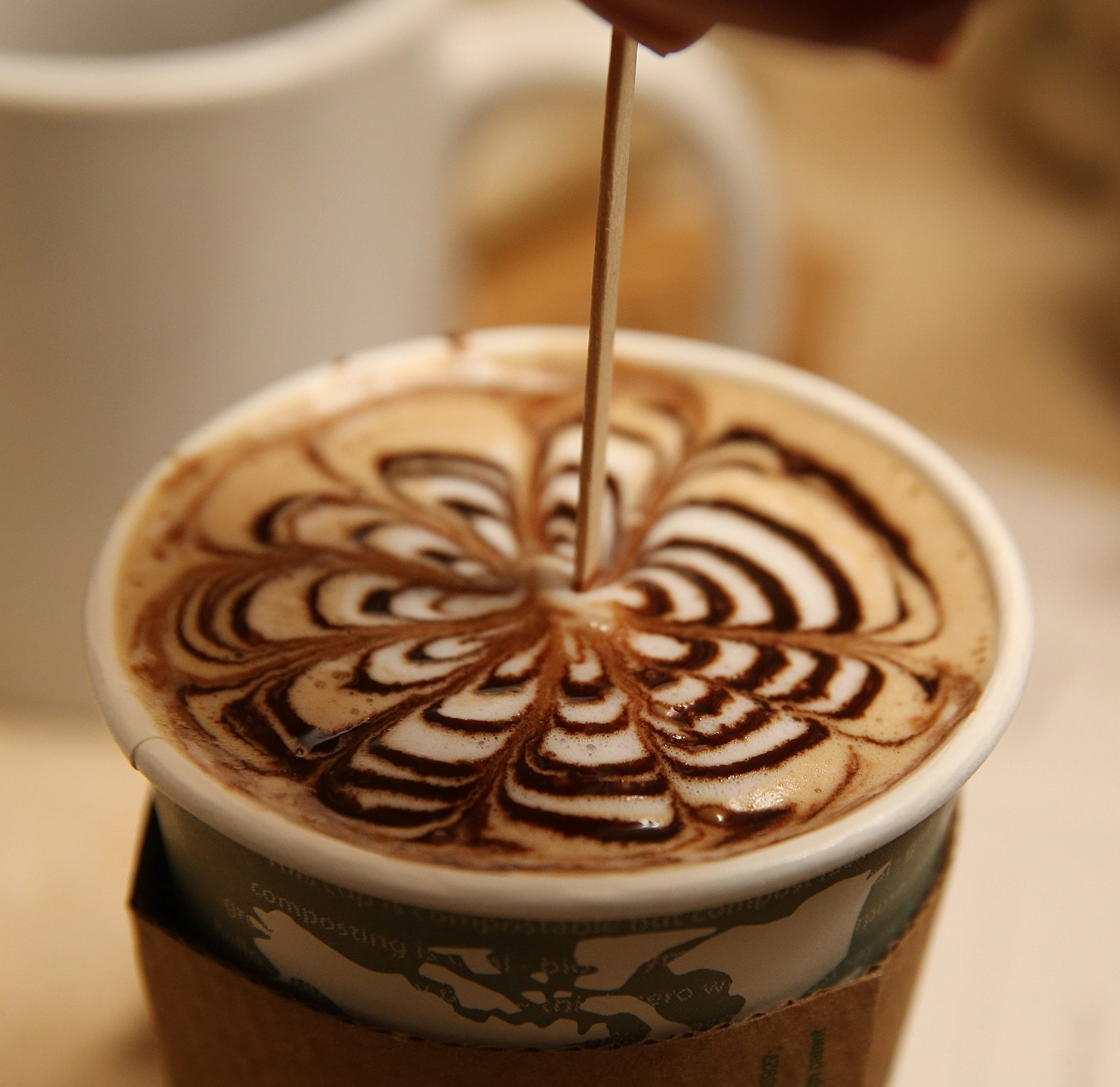 Coffee and espresso drinks are only part of the equation at Daily Planet. (Sharon Cantillon/Buffalo News)