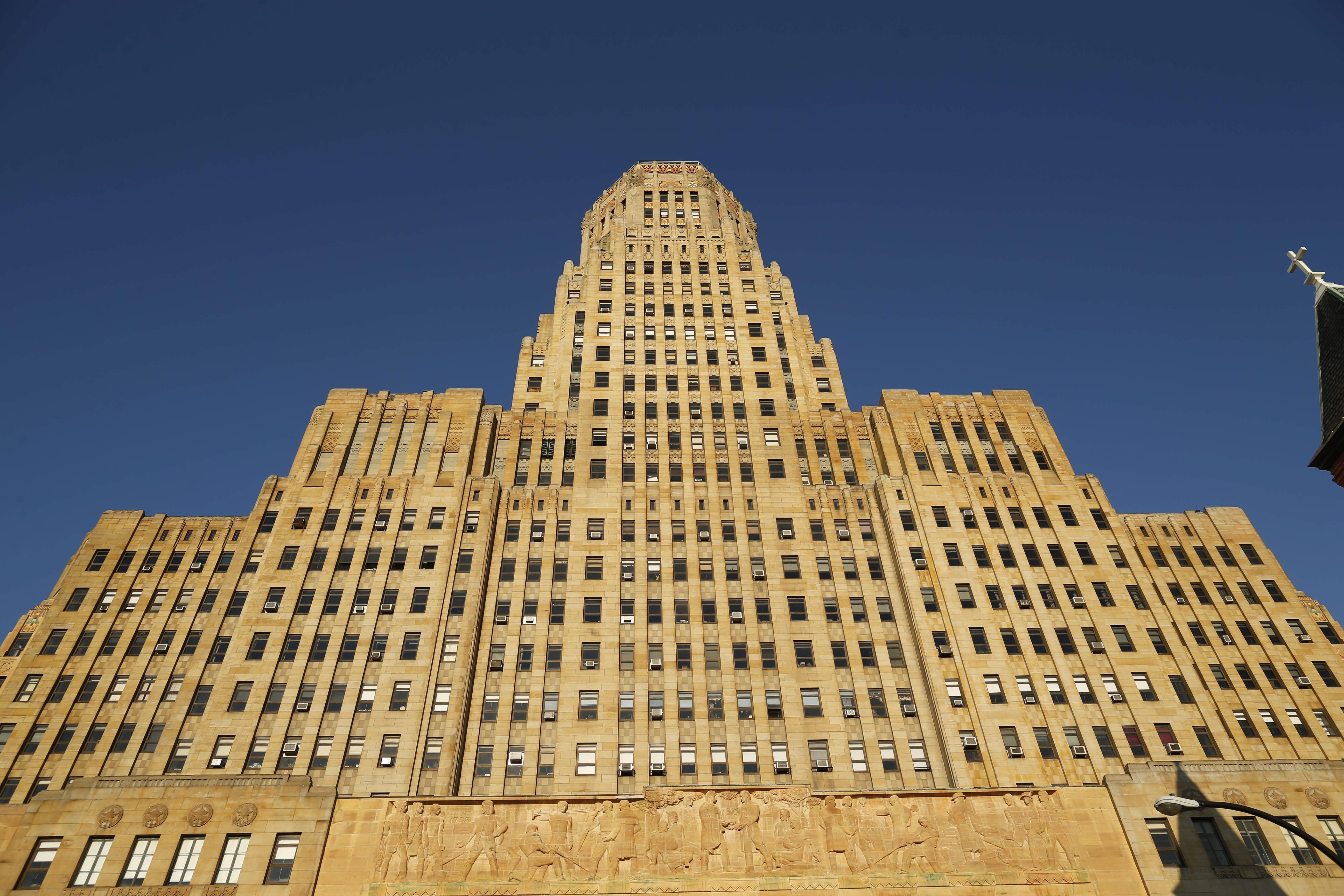 Buffalo City Hall. (Derek Gee/Buffalo News)