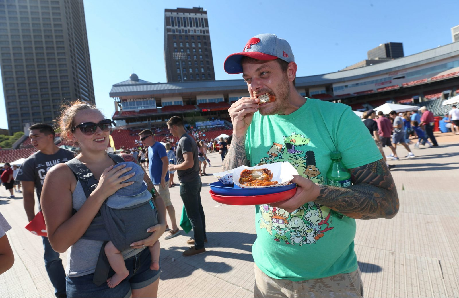 The National Buffalo Wing Festival takes over Coca-Cola Field this weekend. (Sharon Cantillon/News file photo)