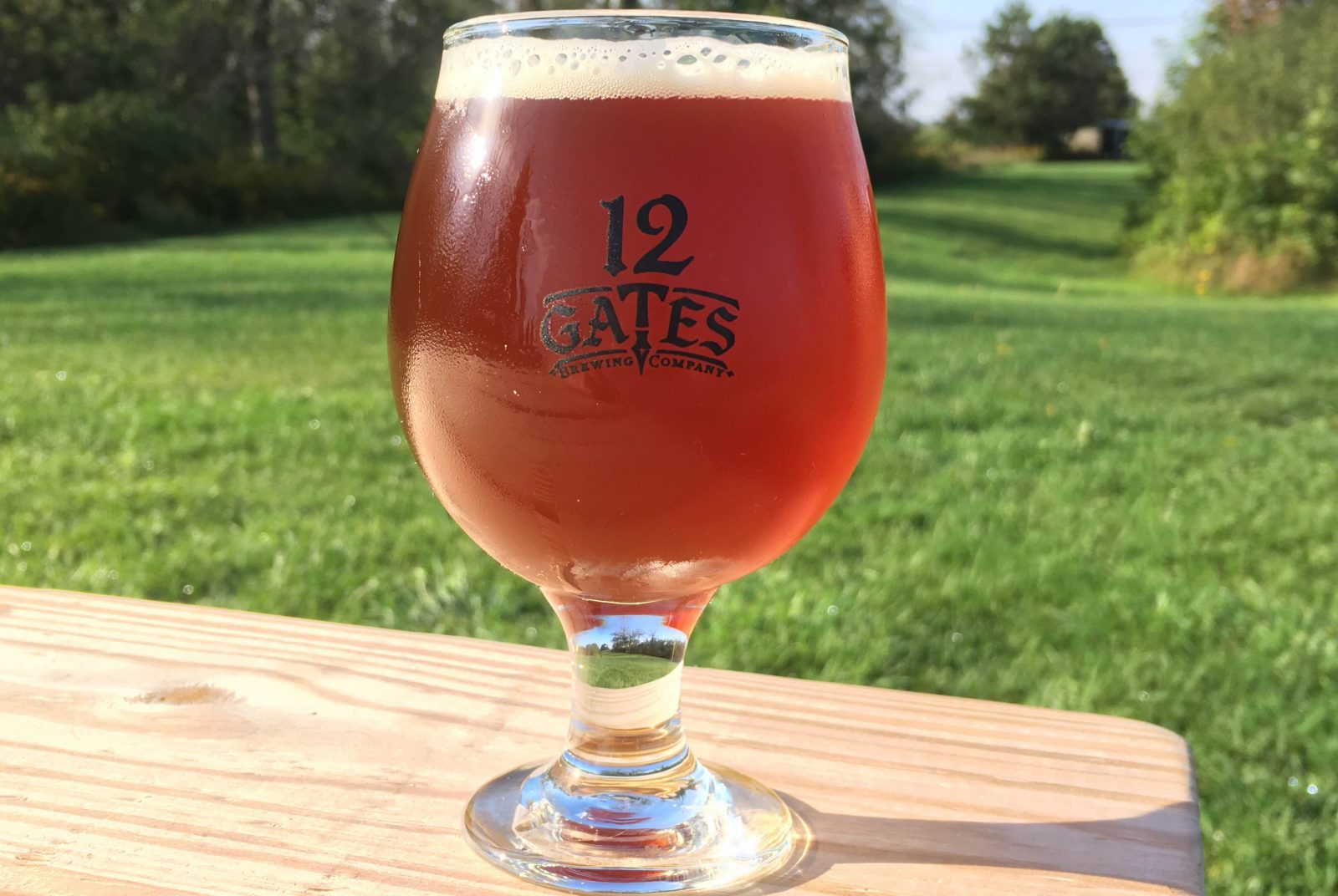 Try a glass of Ales for ALS XXIPA from 12 Gates during Beer Week, which runs through Oct. 2.
