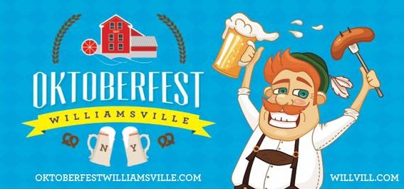 The event flier lead image for Williamsville Oktoberfest.
