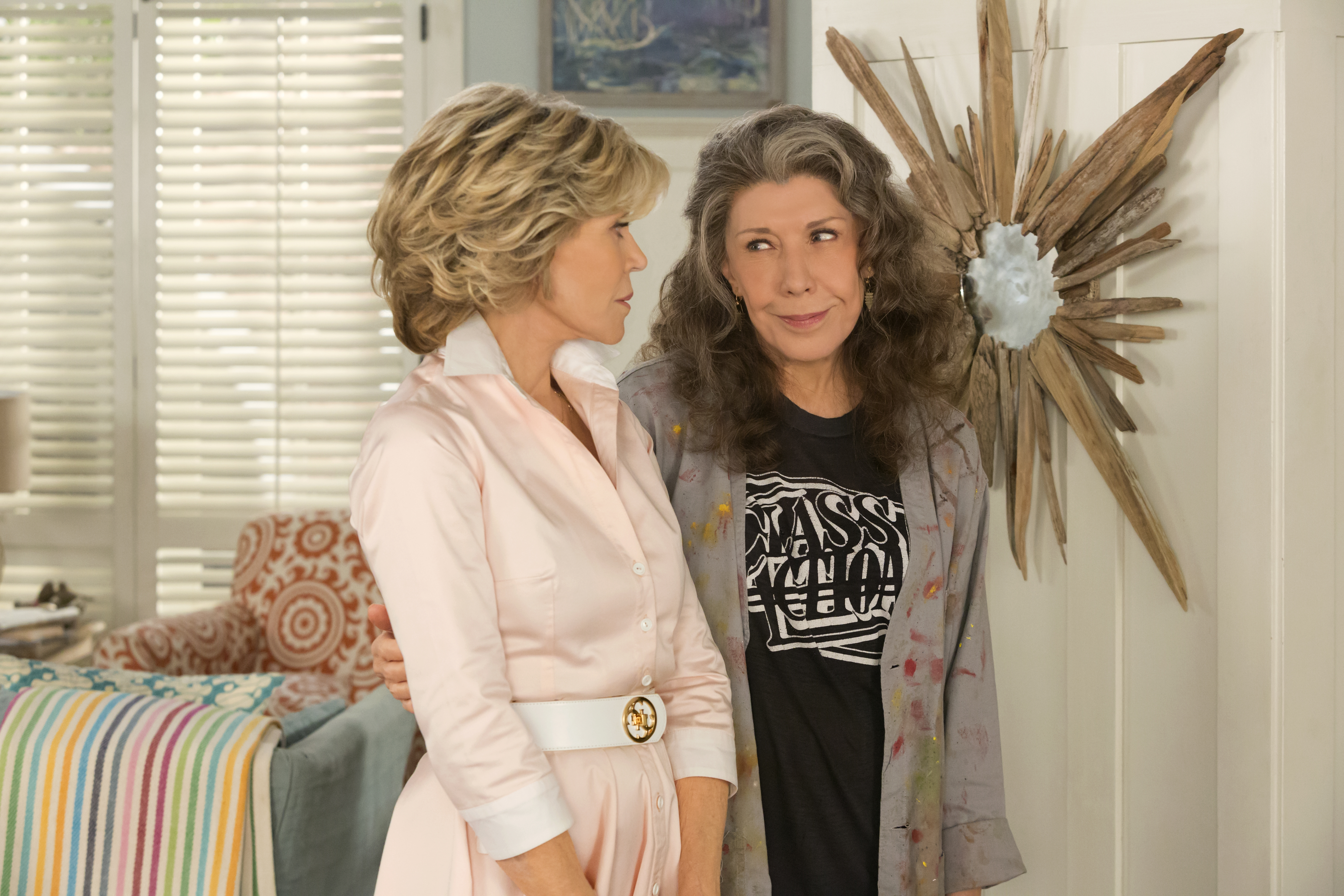 Jane Fonda, left, and Lily Tomlin star in 'Grace and Frankie.'