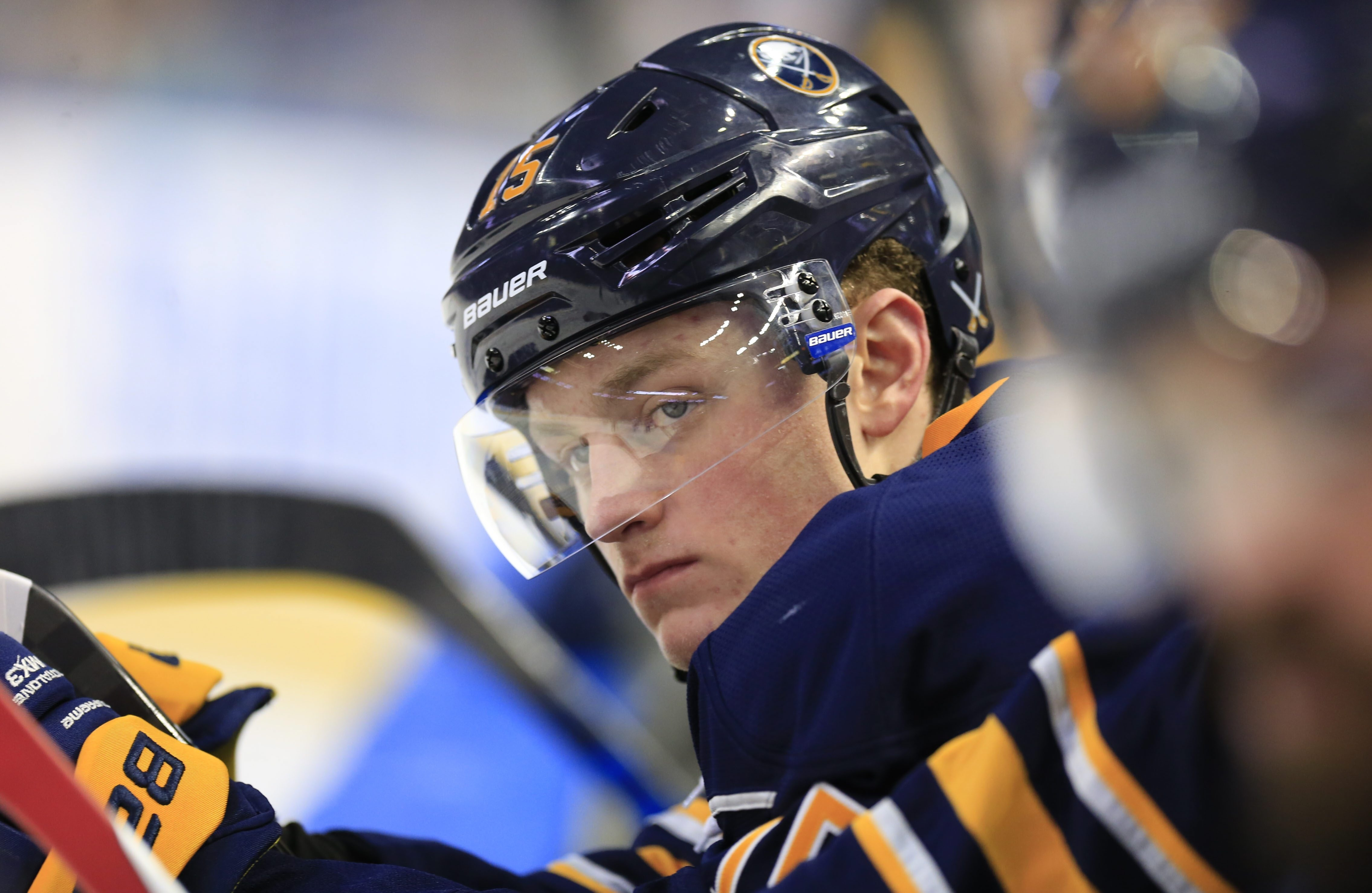 Jack Eichel could be on a line with Connor McDavid and Johnny Gaudreau in Sunday evening's Team North America exhibition against Europe.