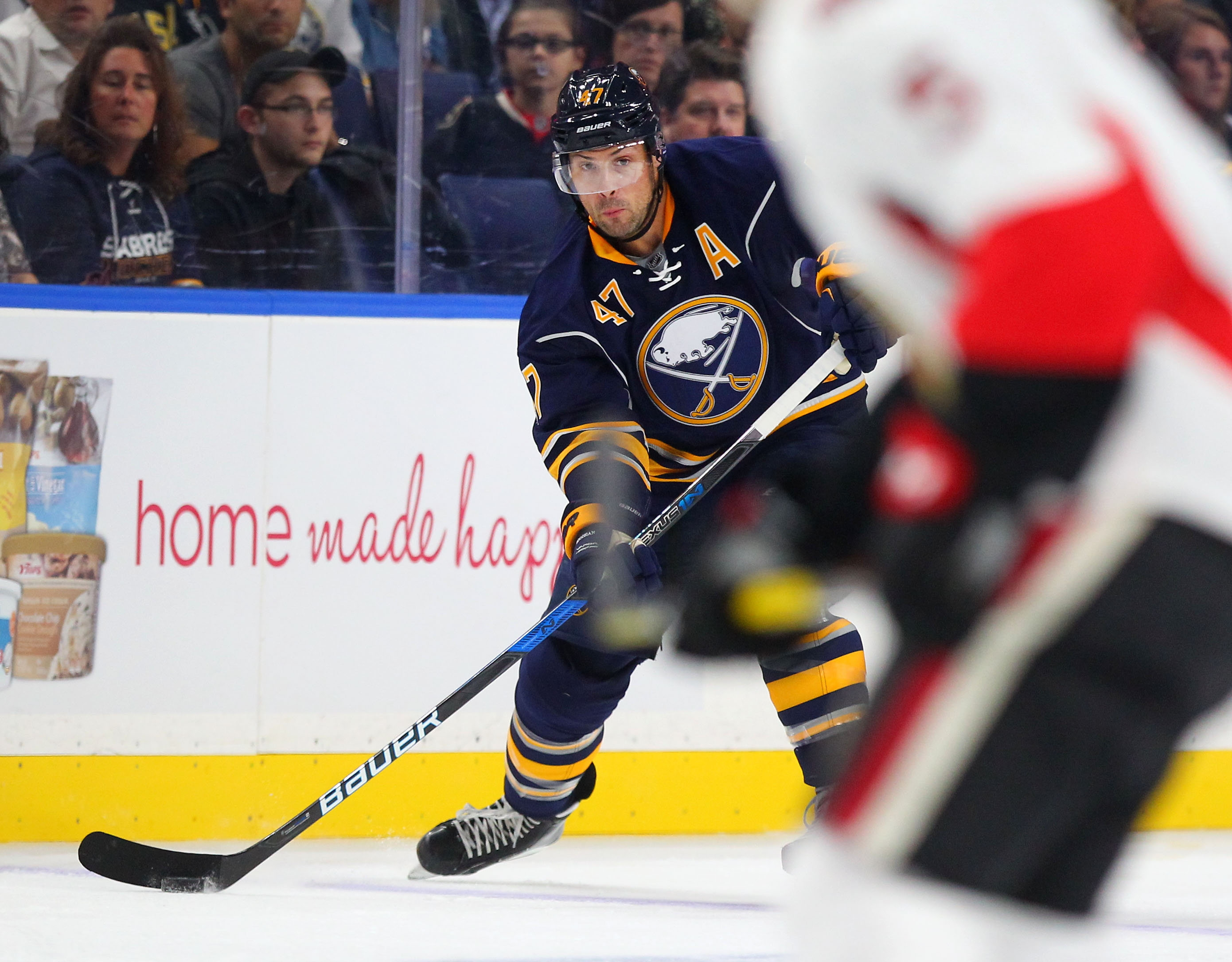 Defenseman Zach Bogosian is one of four prominent Sabres out with injury.