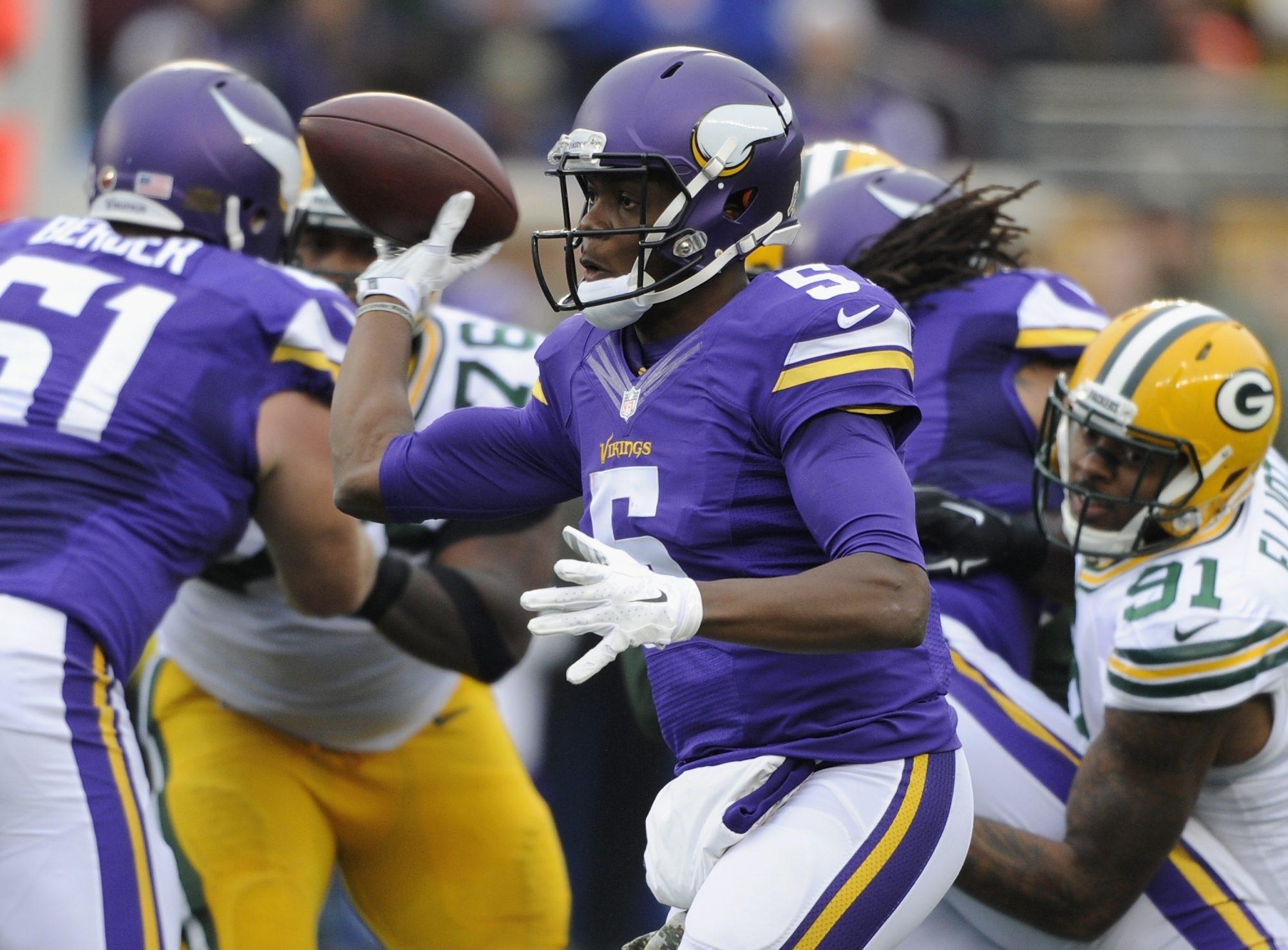 Teddy Bridgewater's season-ending injury has put the Minnesota Vikings in a quarterback bind.
