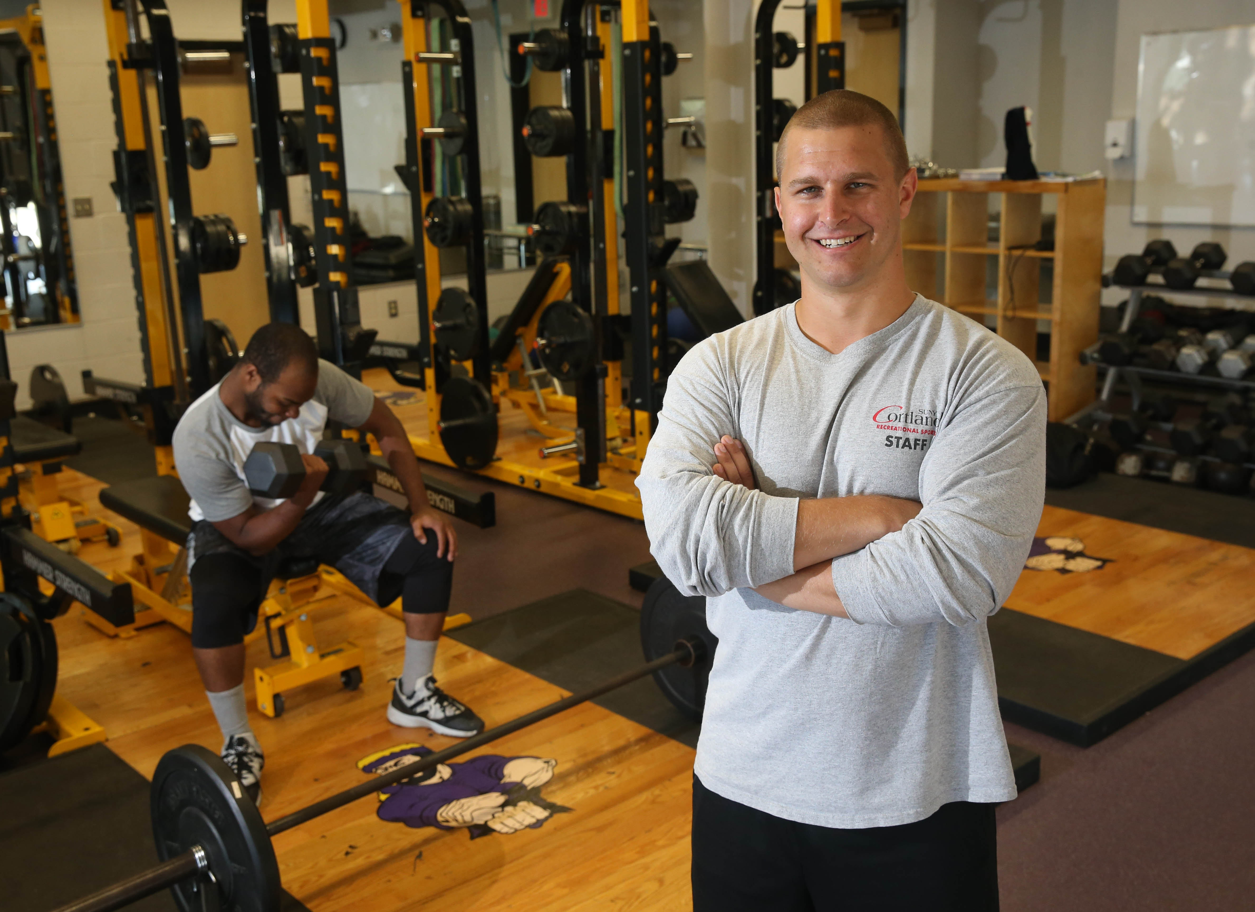 """""""Once you see what's possible, you start to see results."""" – Geoffrey Hurley, personal training teacher and varsity baseball coach at Riverside High School"""