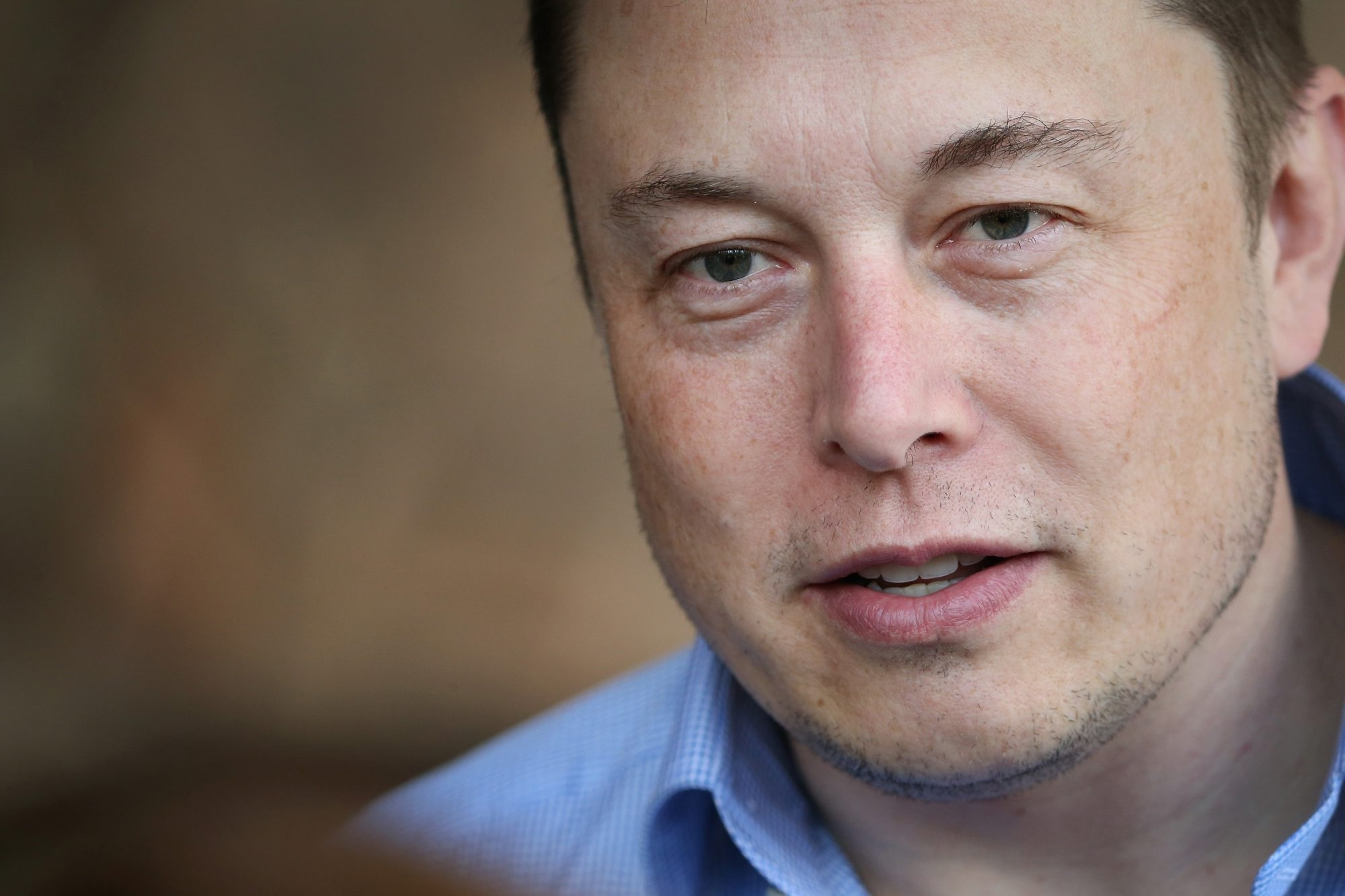 Elon Musk, CEO and product architect of Tesla Motors, and chairman of SolarCity.  (Getty Images)