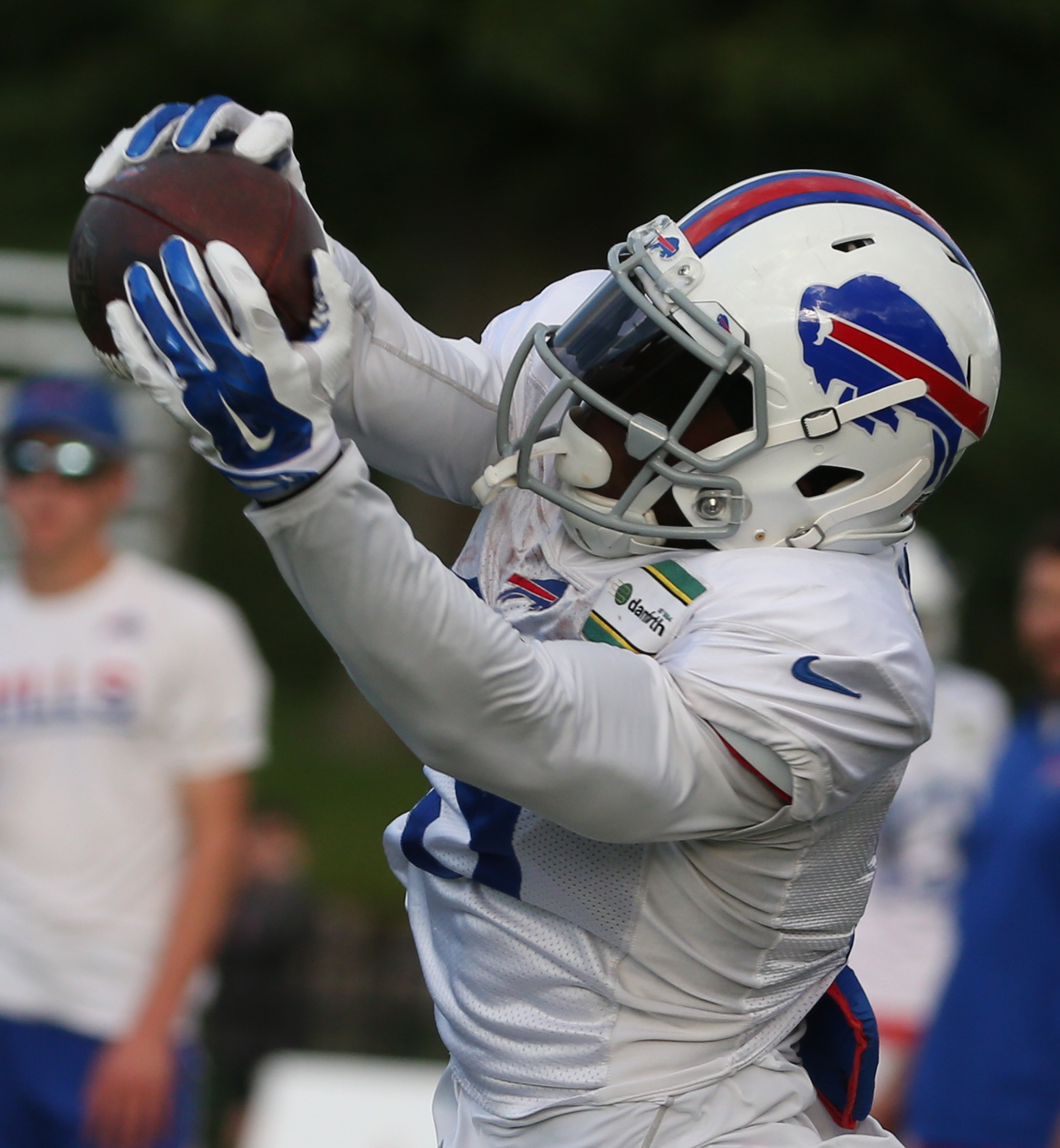 Buffalo Bills wide receiver Walt Powell (19) makes the team in The News' projection.