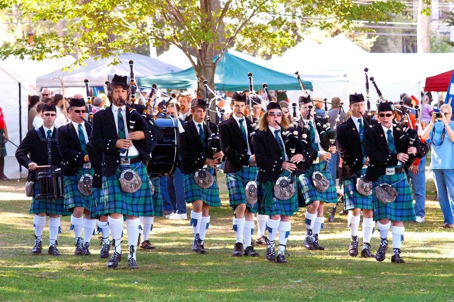 Nine pipe bands are scheduled to perform at the Niagara Celtic Heritage Festival at Krull Park in Olcott.