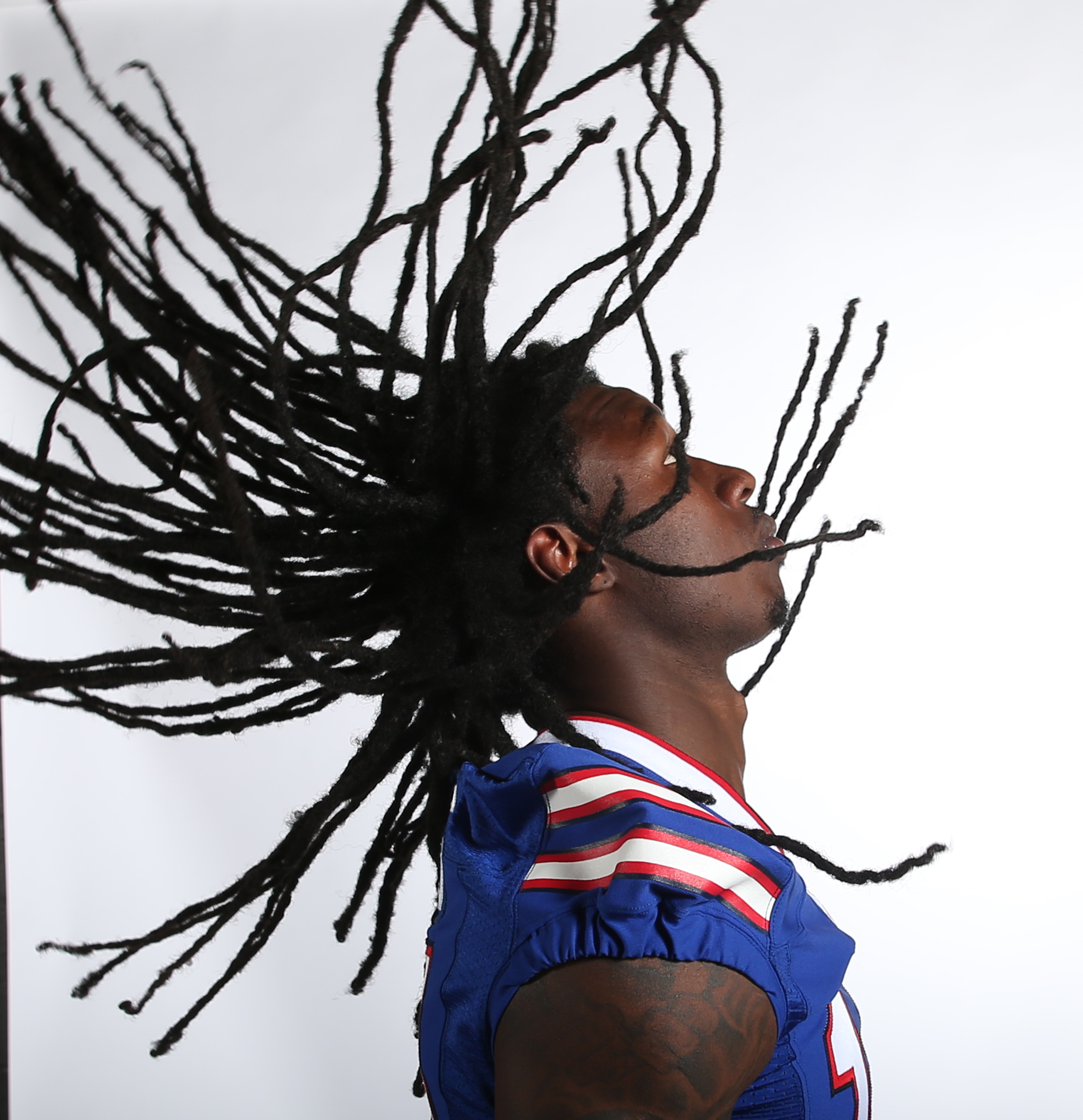 Buffalo Bills wide receiver Sammy Watkins portrait for pre view section. Photo taken at ADPRO Sports Training Center in Orchard Park,NY on Tuesday, Aug. 30, 2016.  (James P. McCoy/ Buffalo News)