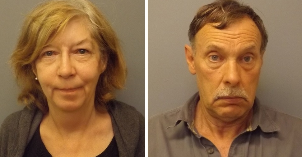 Richard C. Turrell, 61, of Ridgway, and Mary A. Sullivan, 62, of Lockport, faces multiple drug charges. (Orleans County Major Felony Crime Task Force)