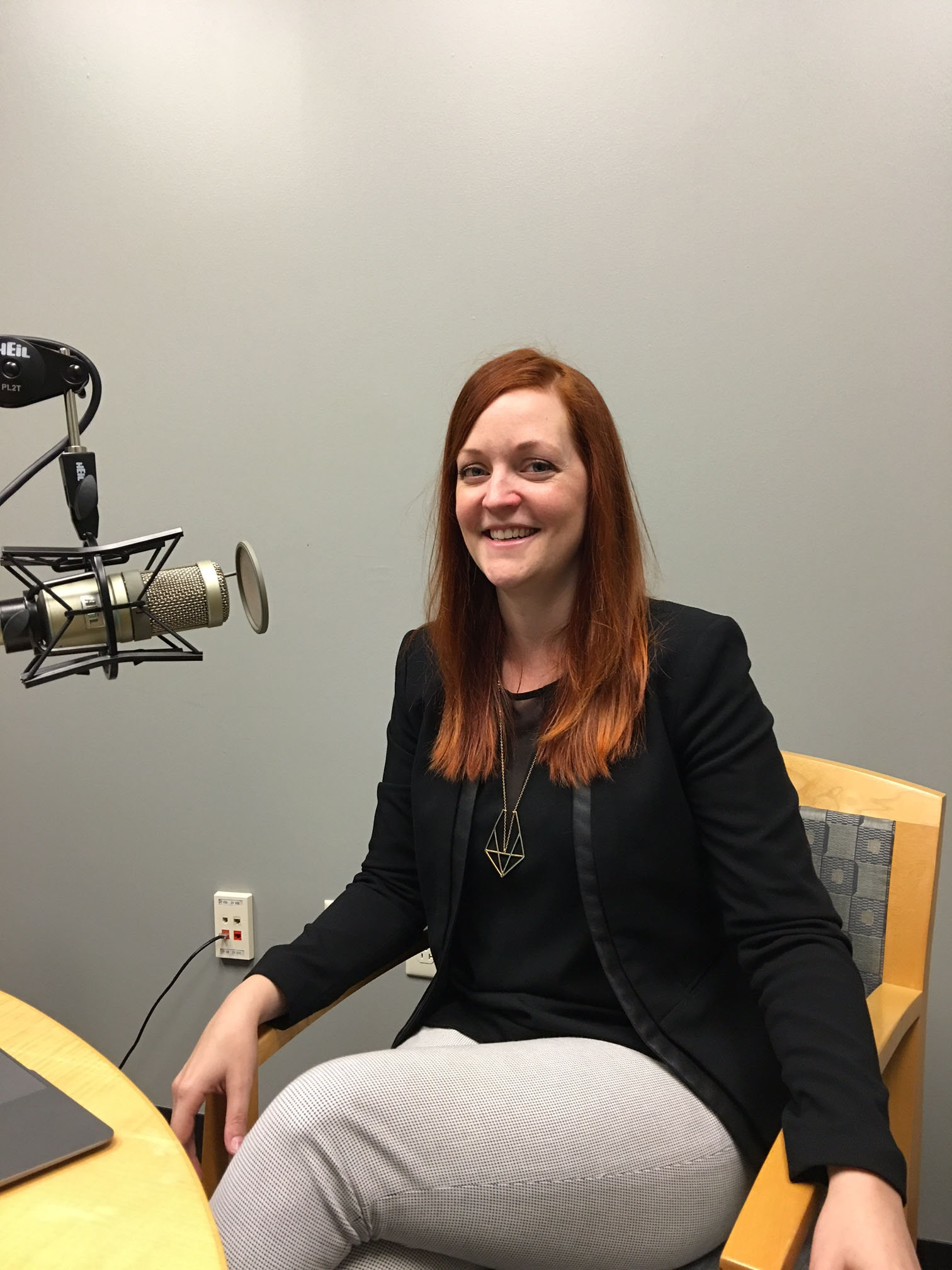 Michelle Levitt started a business, Too Much Neon, with a full-service vocal production studio on the Buffalo Niagara Medical Campus