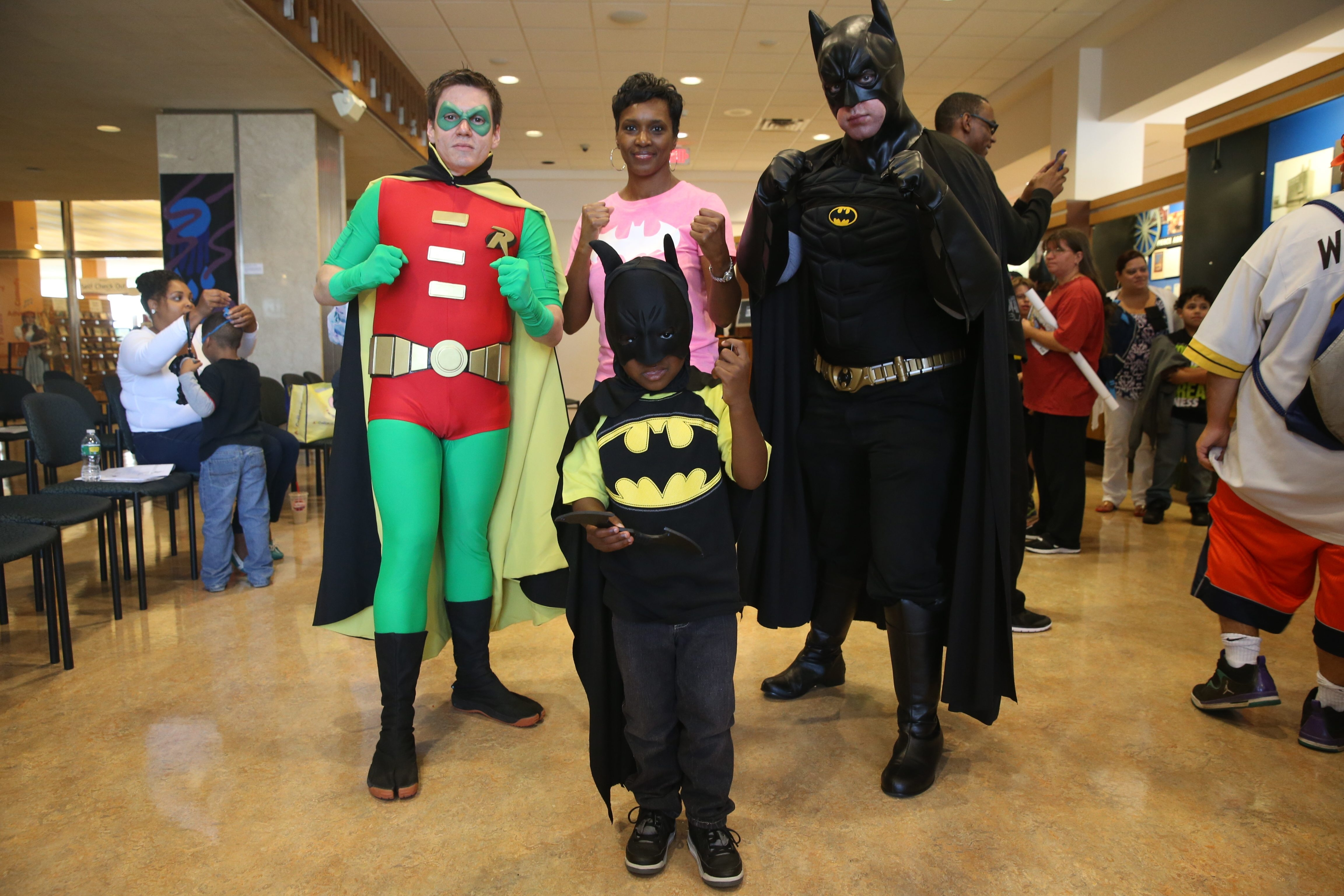 Celebrate National Batman Day at Comicon on Sept. 17.