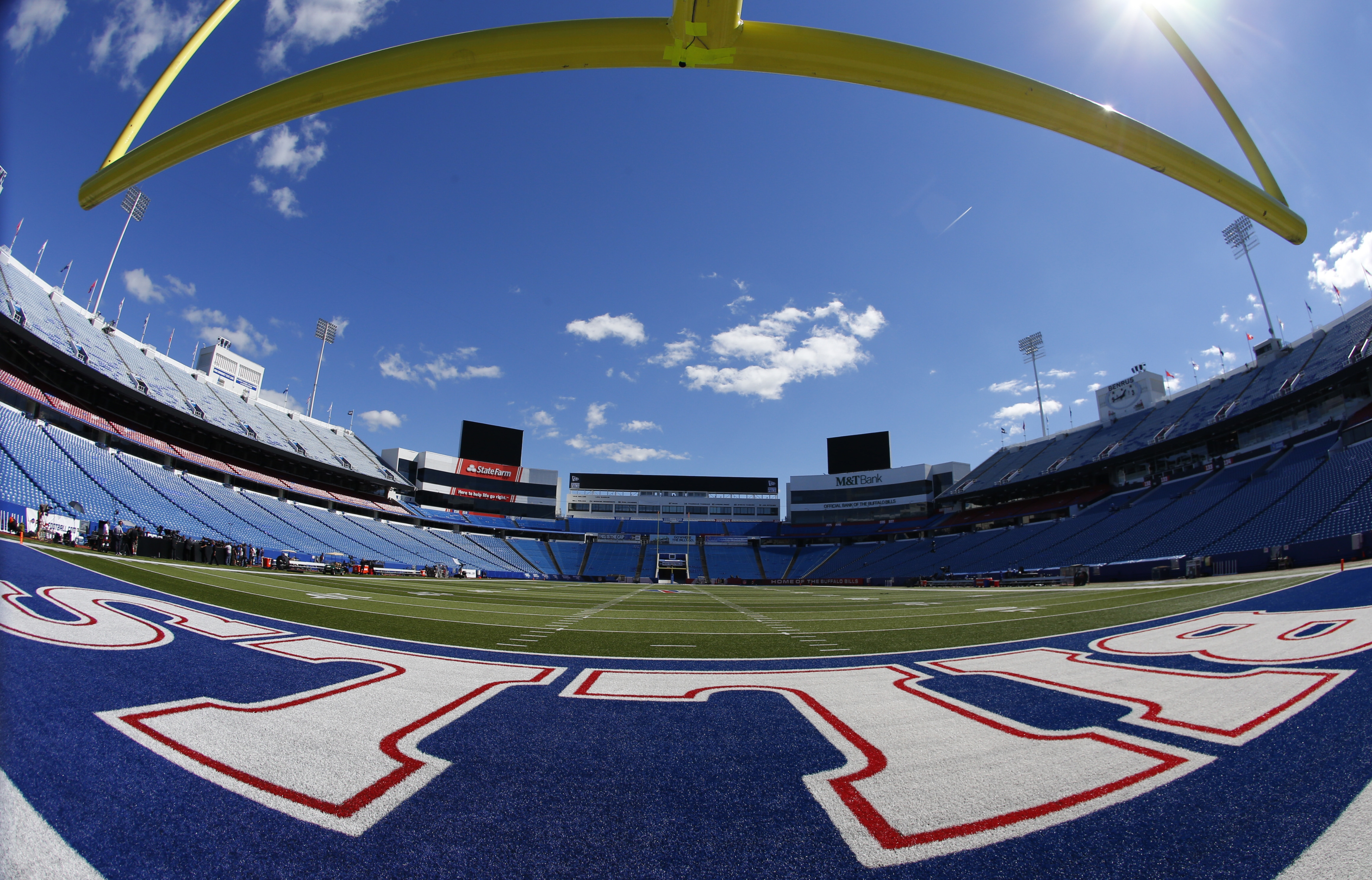 A empty New Era Field prior to the Buffalo Bills and New York Jets on Thursday, Sept. 15, 2016. (Harry Scull Jr./Buffalo News)