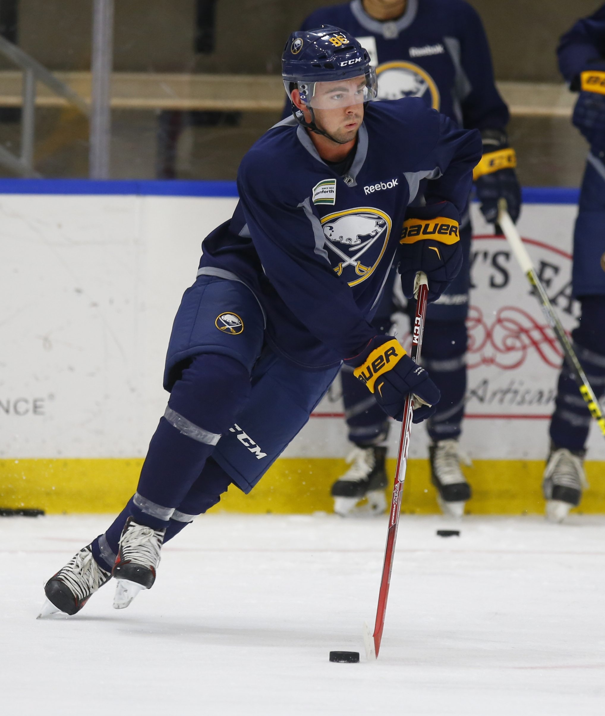 Buffalo Sabres prospect Eric Cornel during development camp. (Harry Scull Jr./Buffalo News)