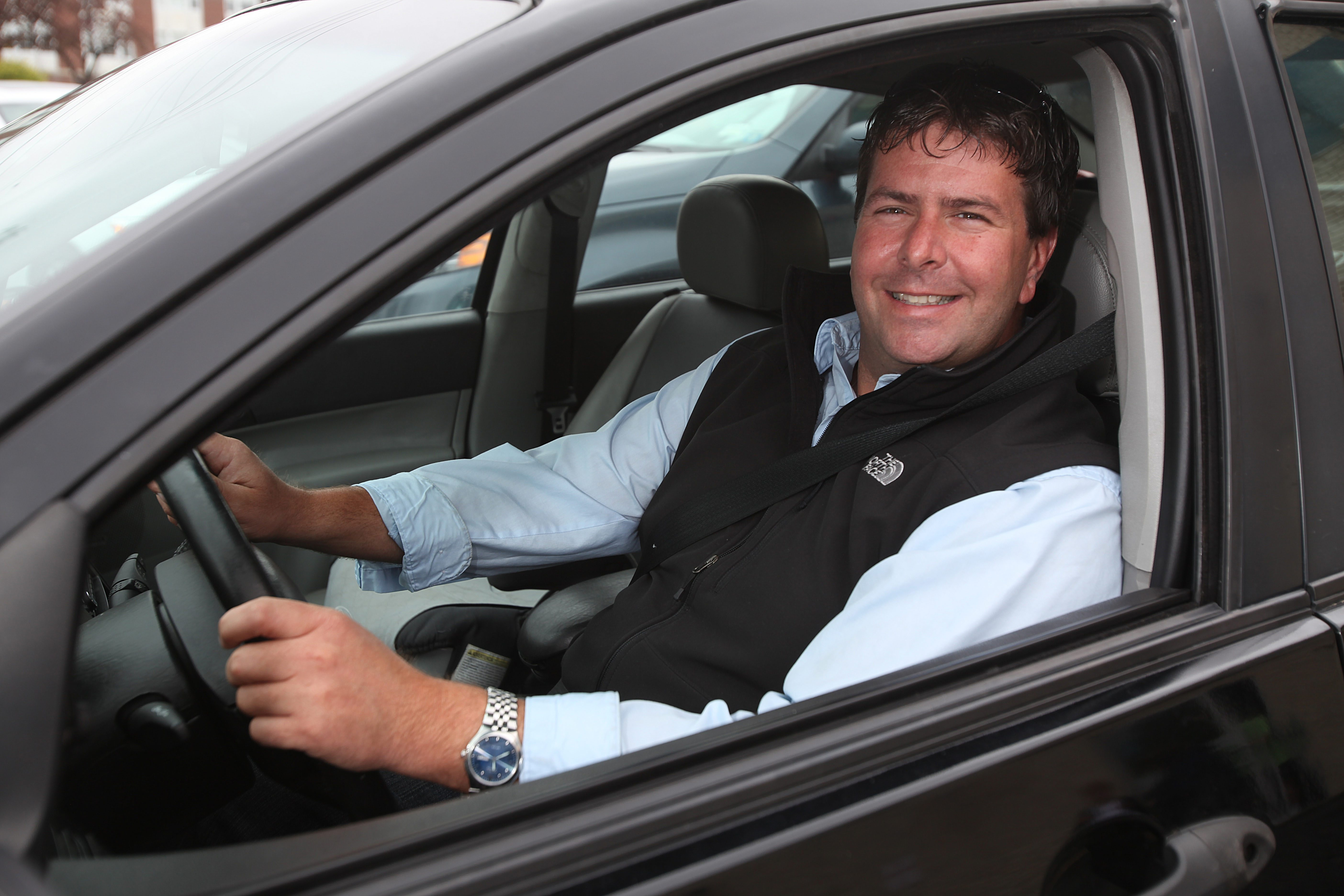 Christopher Duquin was interviewed by The Buffalo News in 2012 for a feature story on Stevens Driving School. (News file photo)