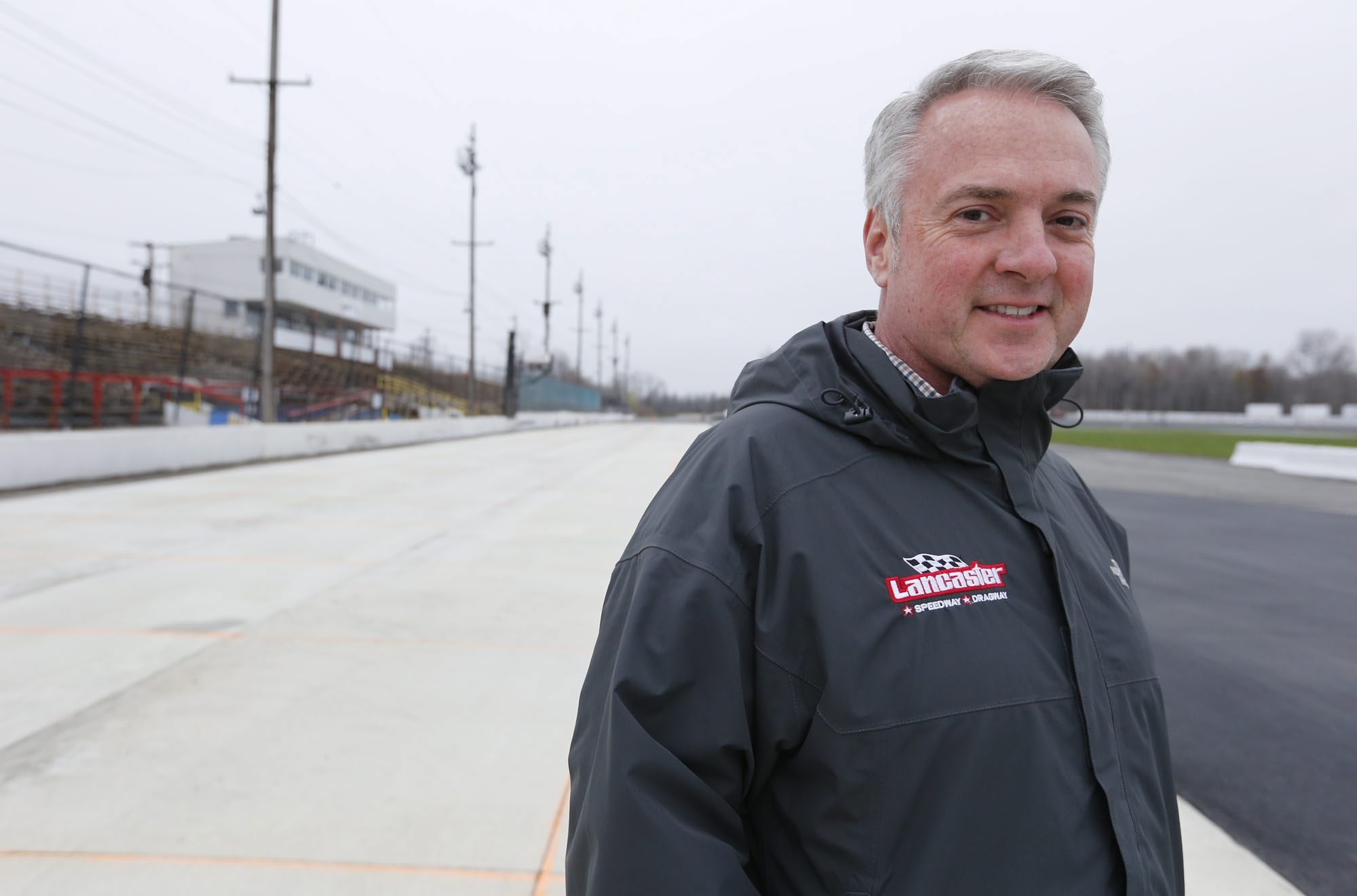 Tim Packman, president of Lancaster National, saw the track have a major spike in attendance this season. (Harry Scull Jr./Buffalo News)
