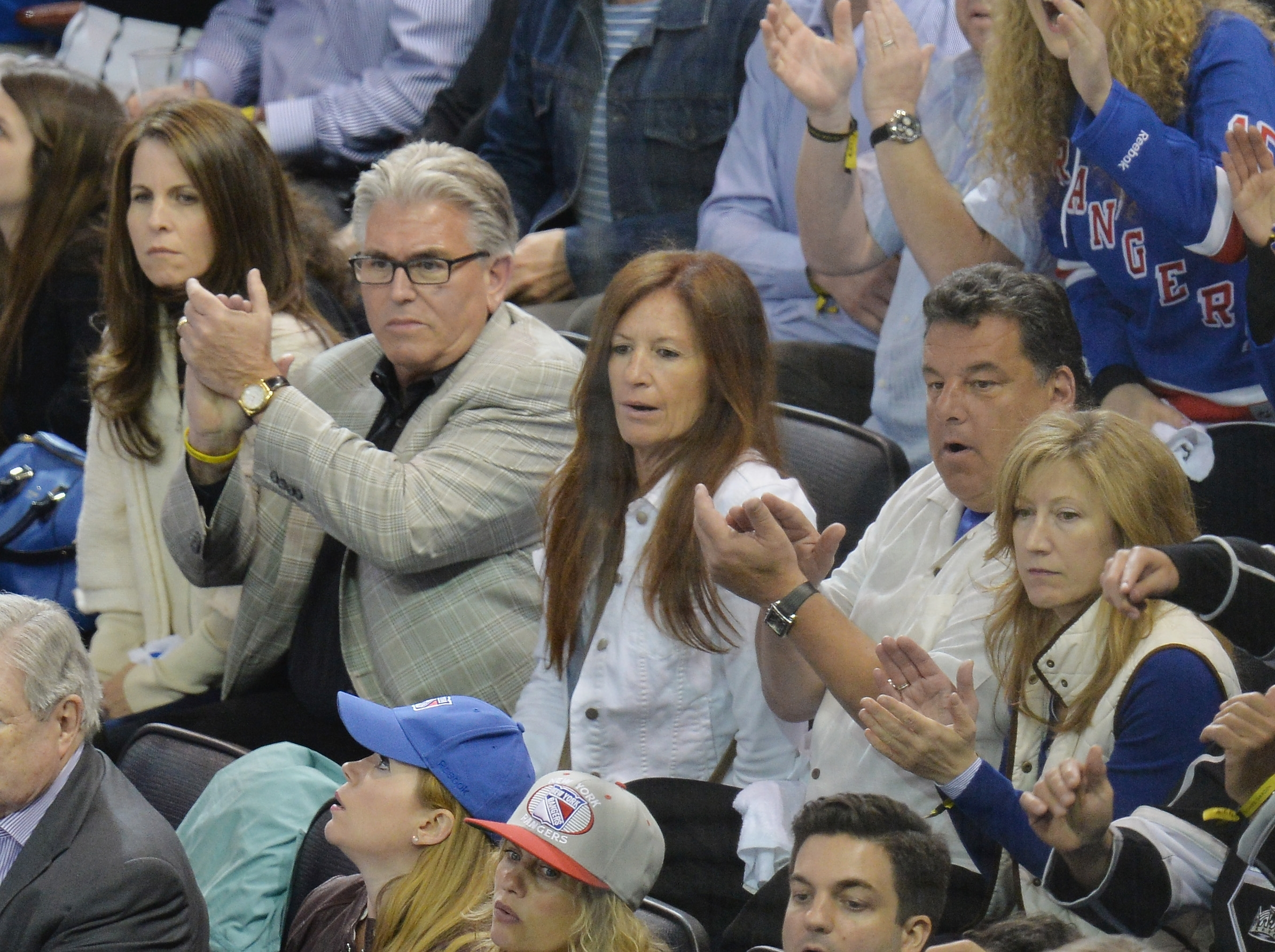 Mike Francesa, pictured at a hockey game in 2014, went on a rant about the Bills.