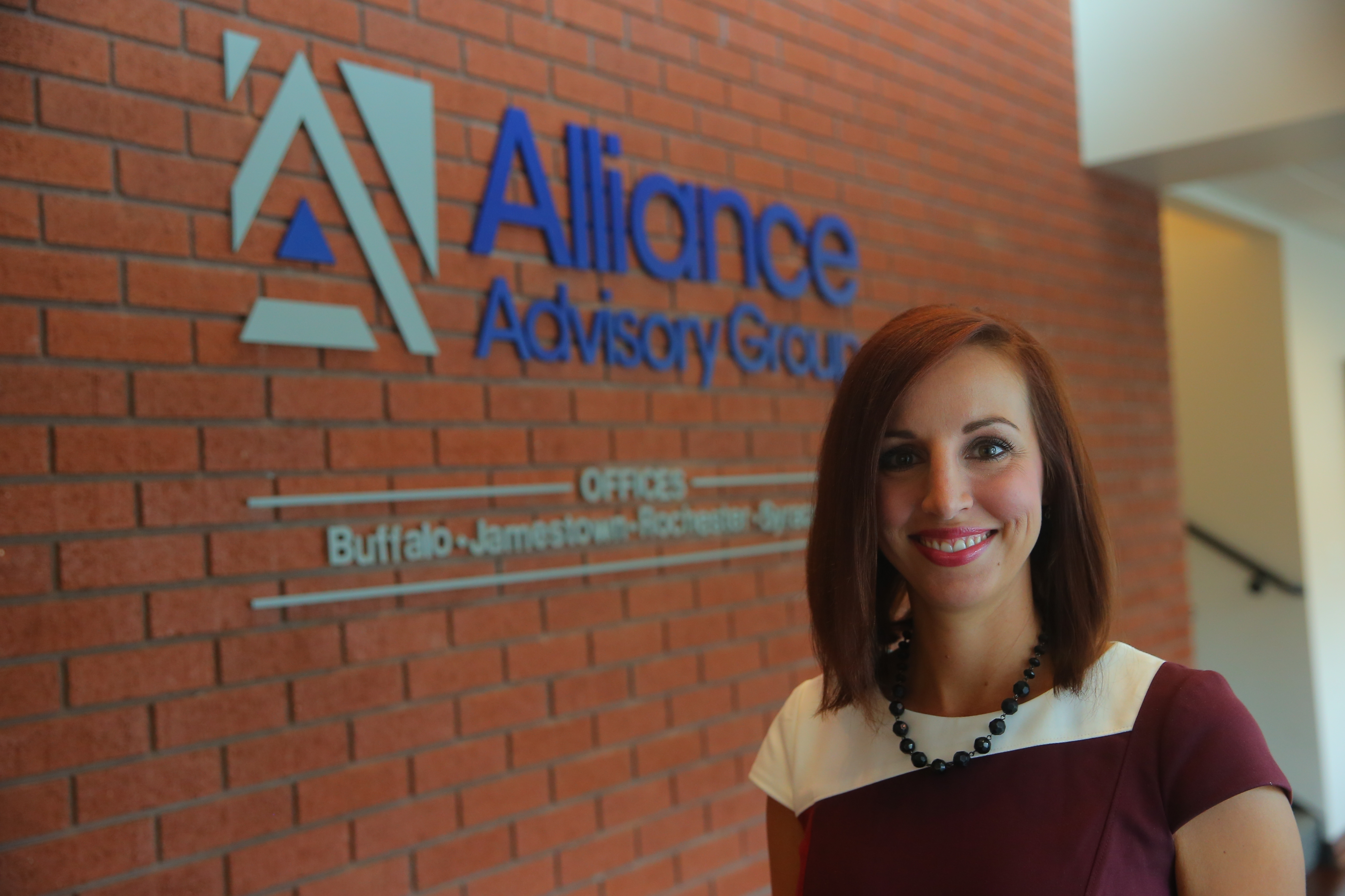 """I save people's lives financially,"" said Angela Szafran, of her work as a financial specialist at Alliance Advisory Group."
