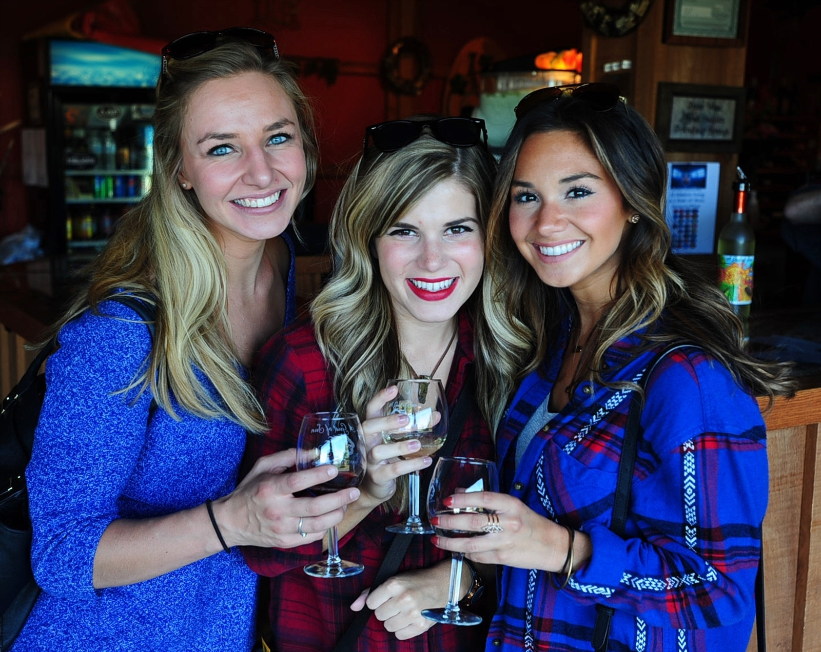 Smiles at the Niagara Wine Trail Harvest Festival